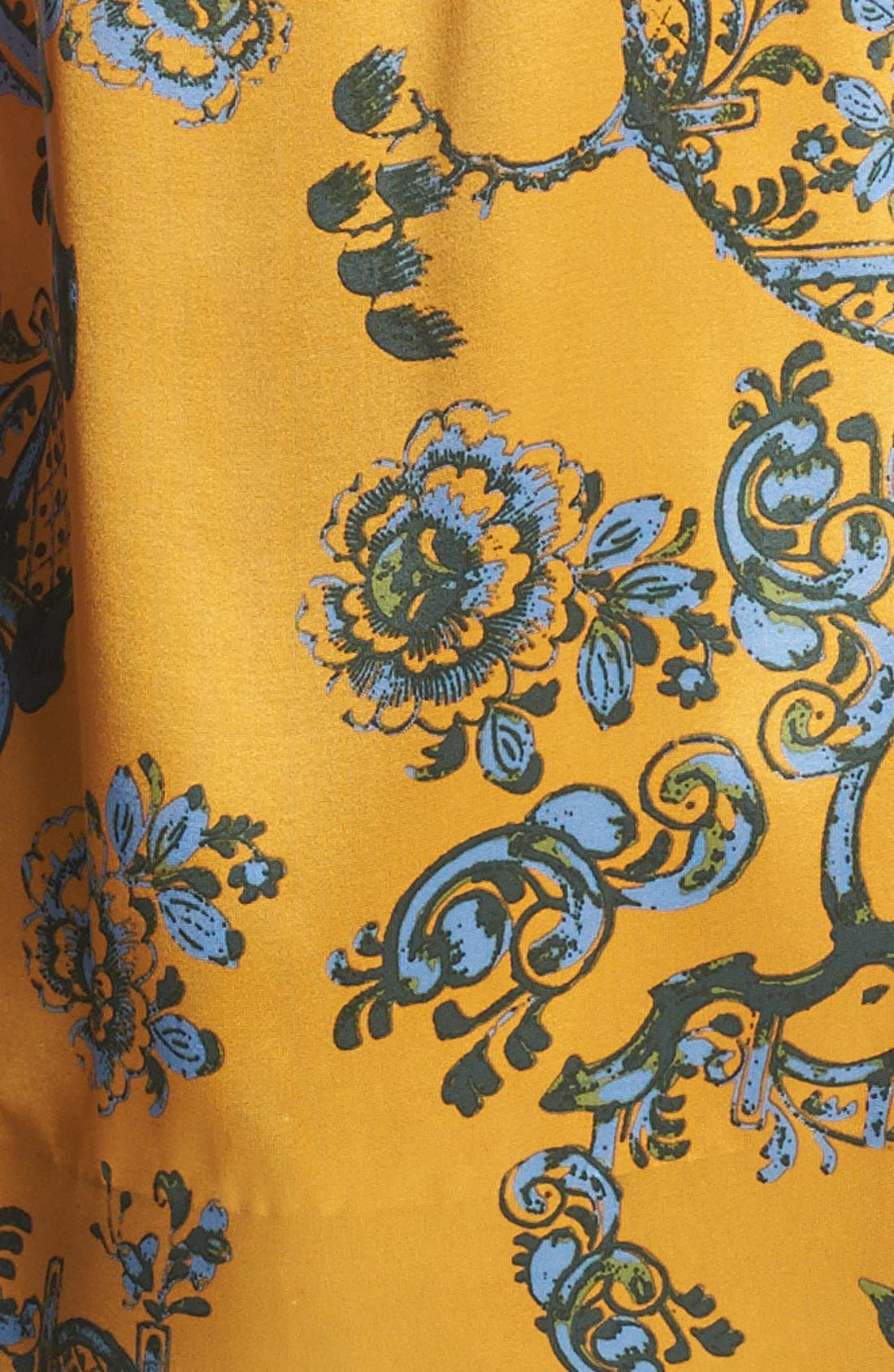 Alternate Image 4  - Elizabeth and James 'Maddox' Print Silk Top