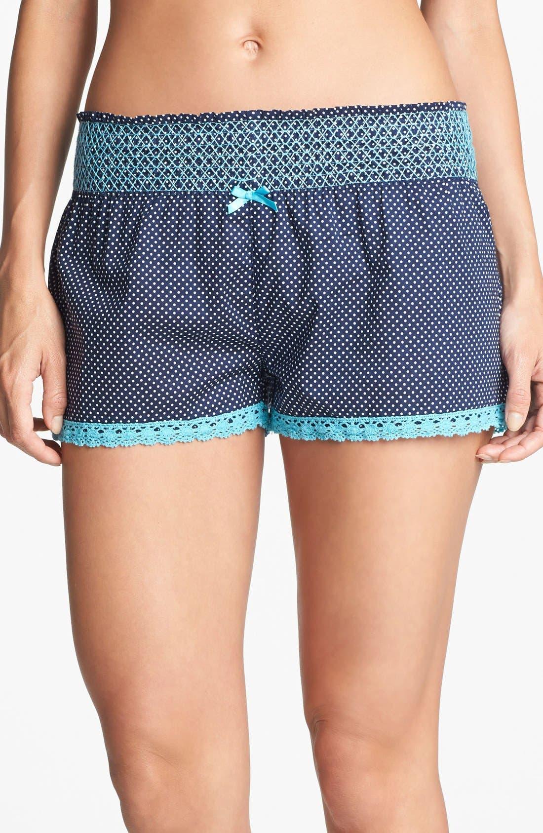 Alternate Image 1 Selected - PJ Salvage 'Blue Lagoon' Shorts