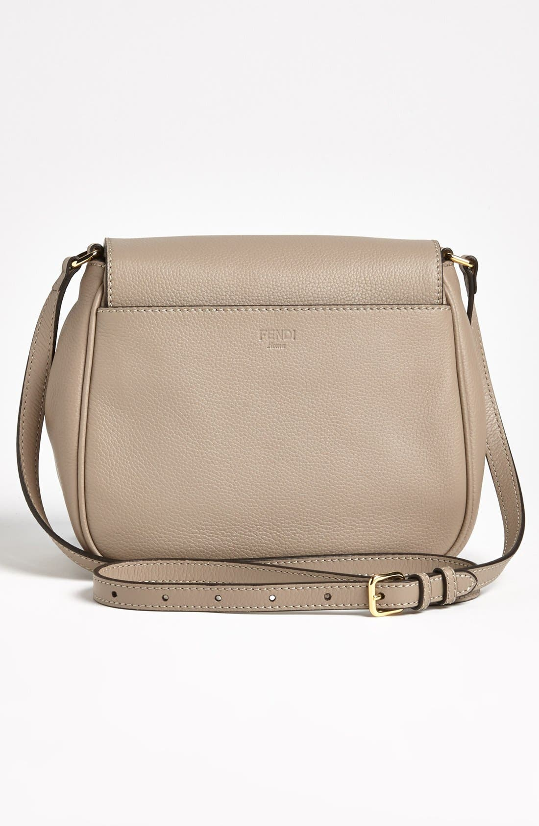 Alternate Image 4  - Fendi Leather Crossbody Bag