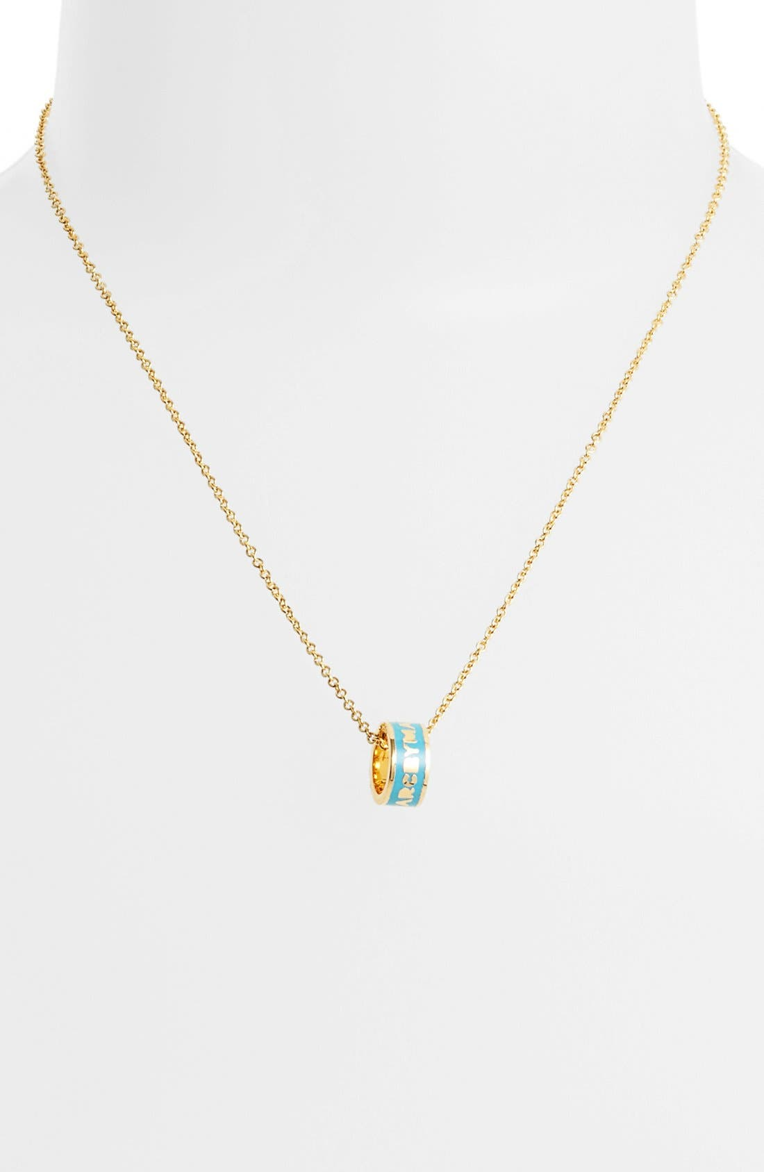 Alternate Image 1 Selected - MARC BY MARC JACOBS 'Classic Marc' Sweetie Pendant Necklace