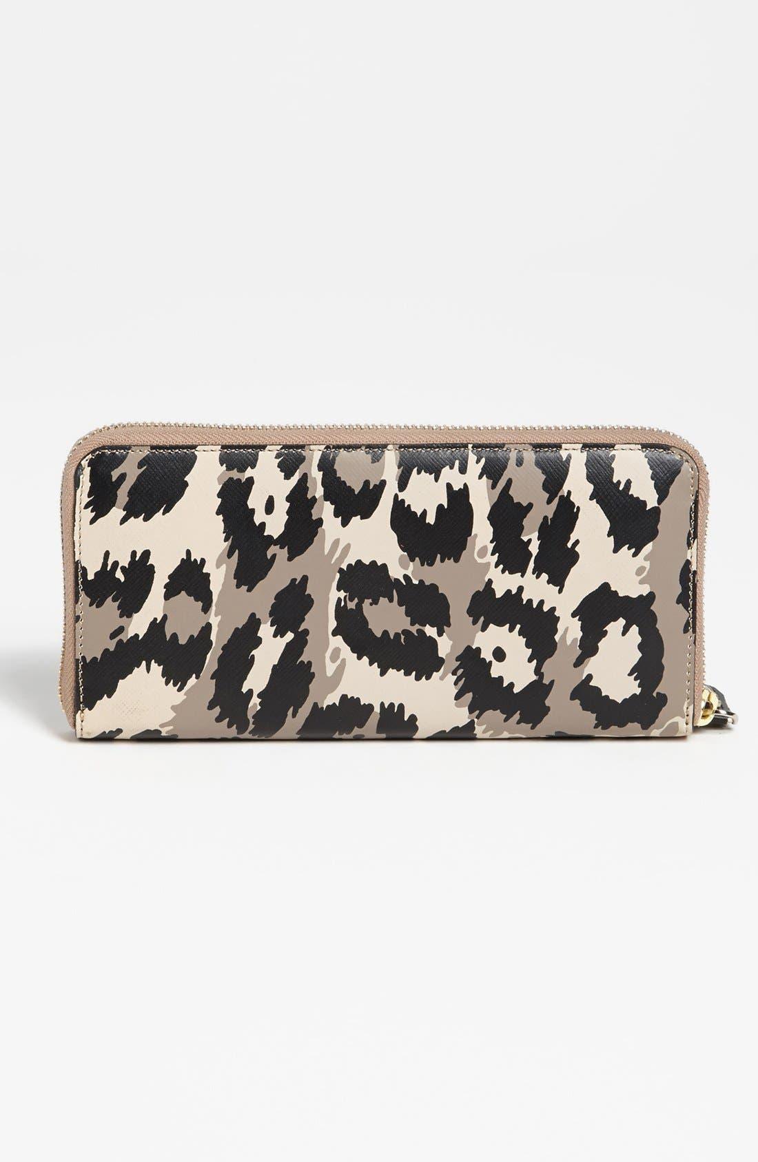 Alternate Image 3  - Diane von Furstenberg Leopard Print Wallet