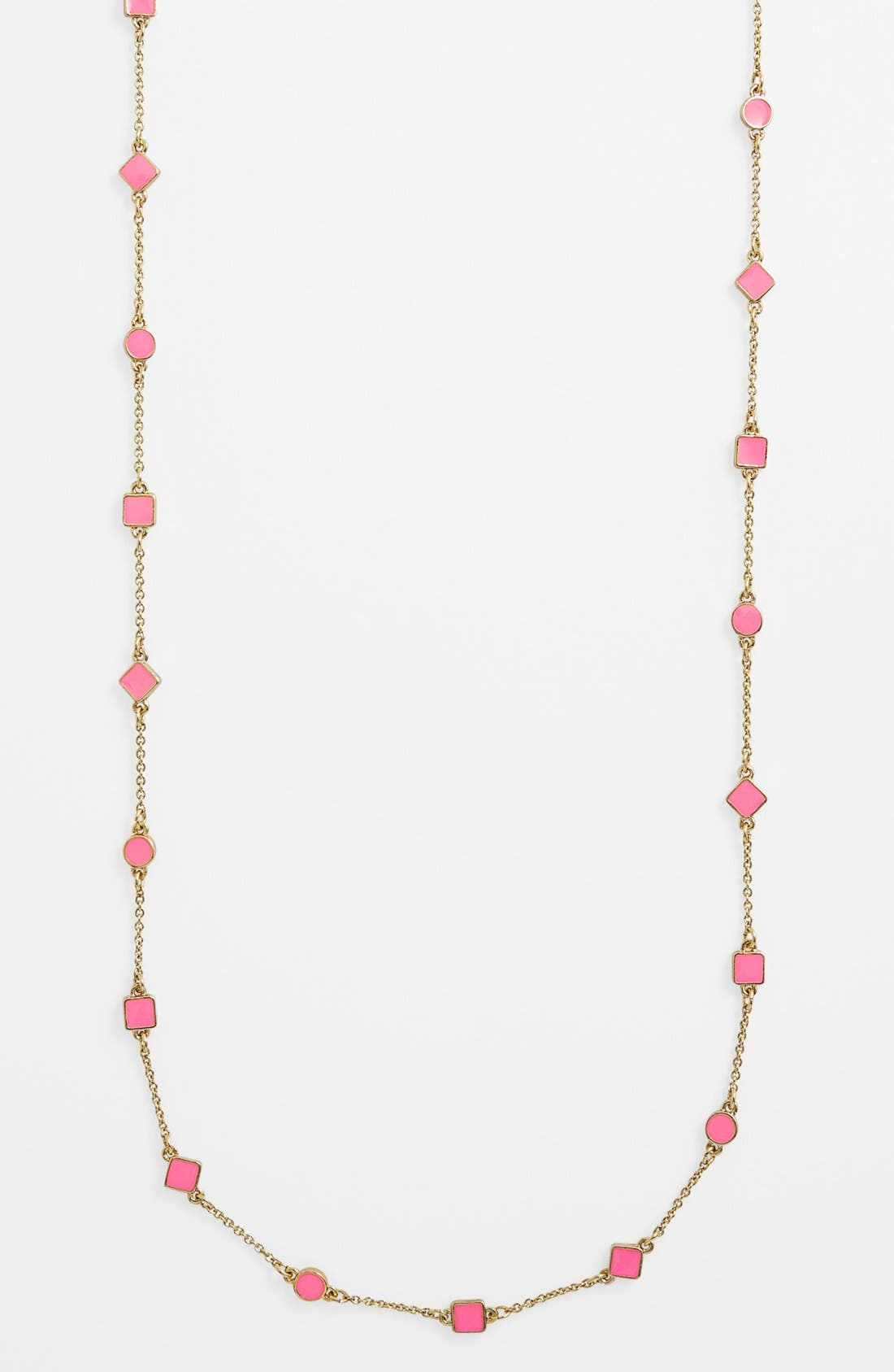 Alternate Image 1 Selected - kate spade new york 'cubetti' extra long station necklace
