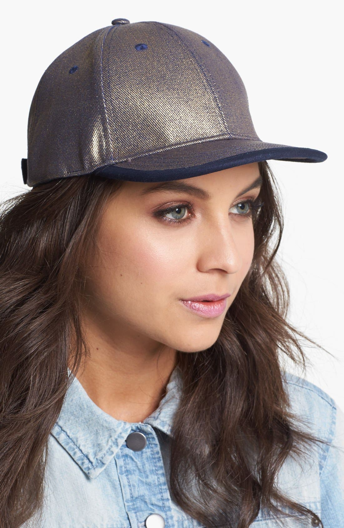 Main Image - Collection XIIX Metallic Baseball Cap