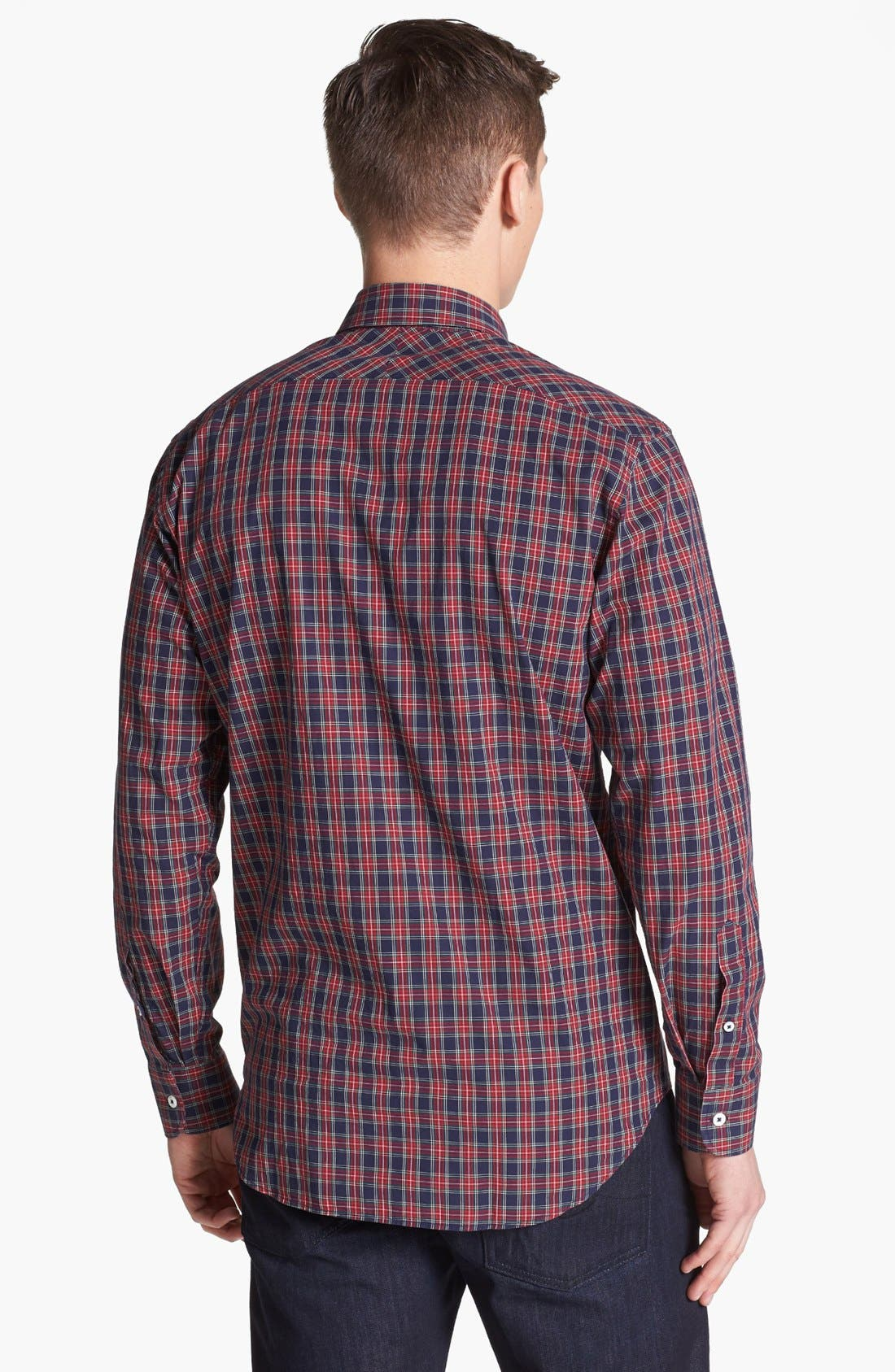 Alternate Image 2  - Billy Reid 'John T' Plaid Woven Shirt