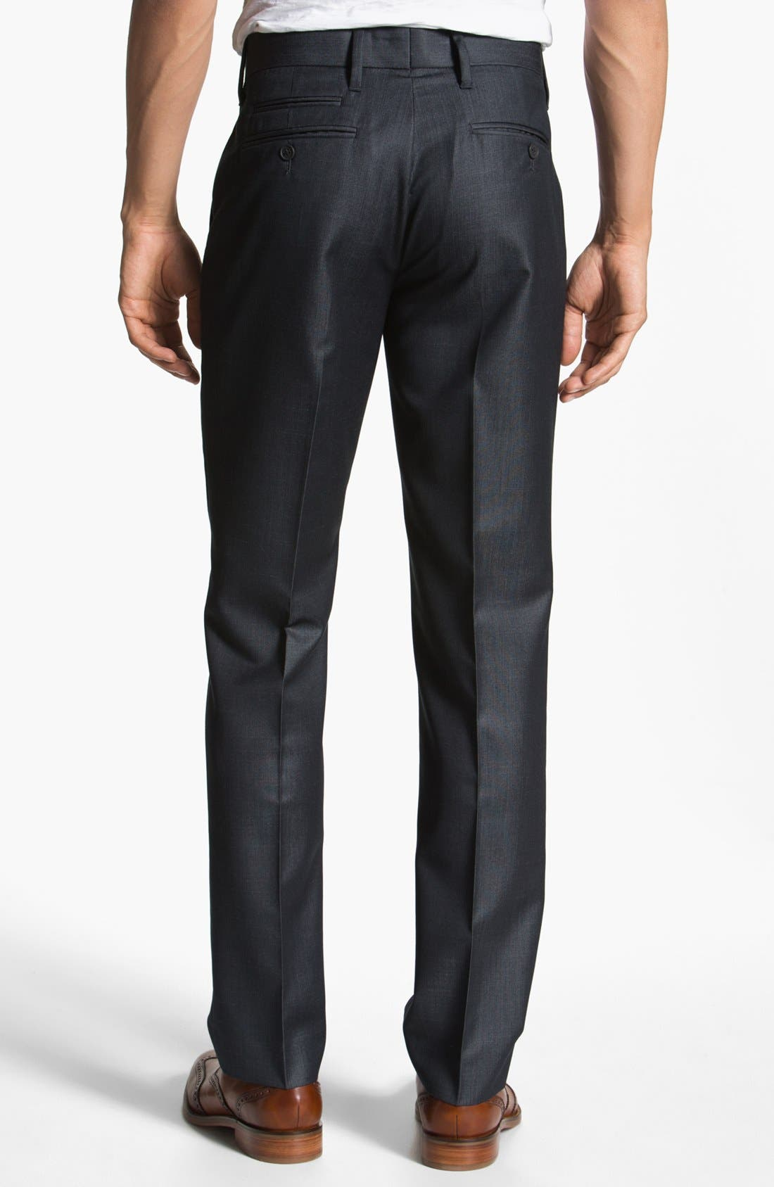Alternate Image 2  - Howe 'The Finest' Flat Front Pants