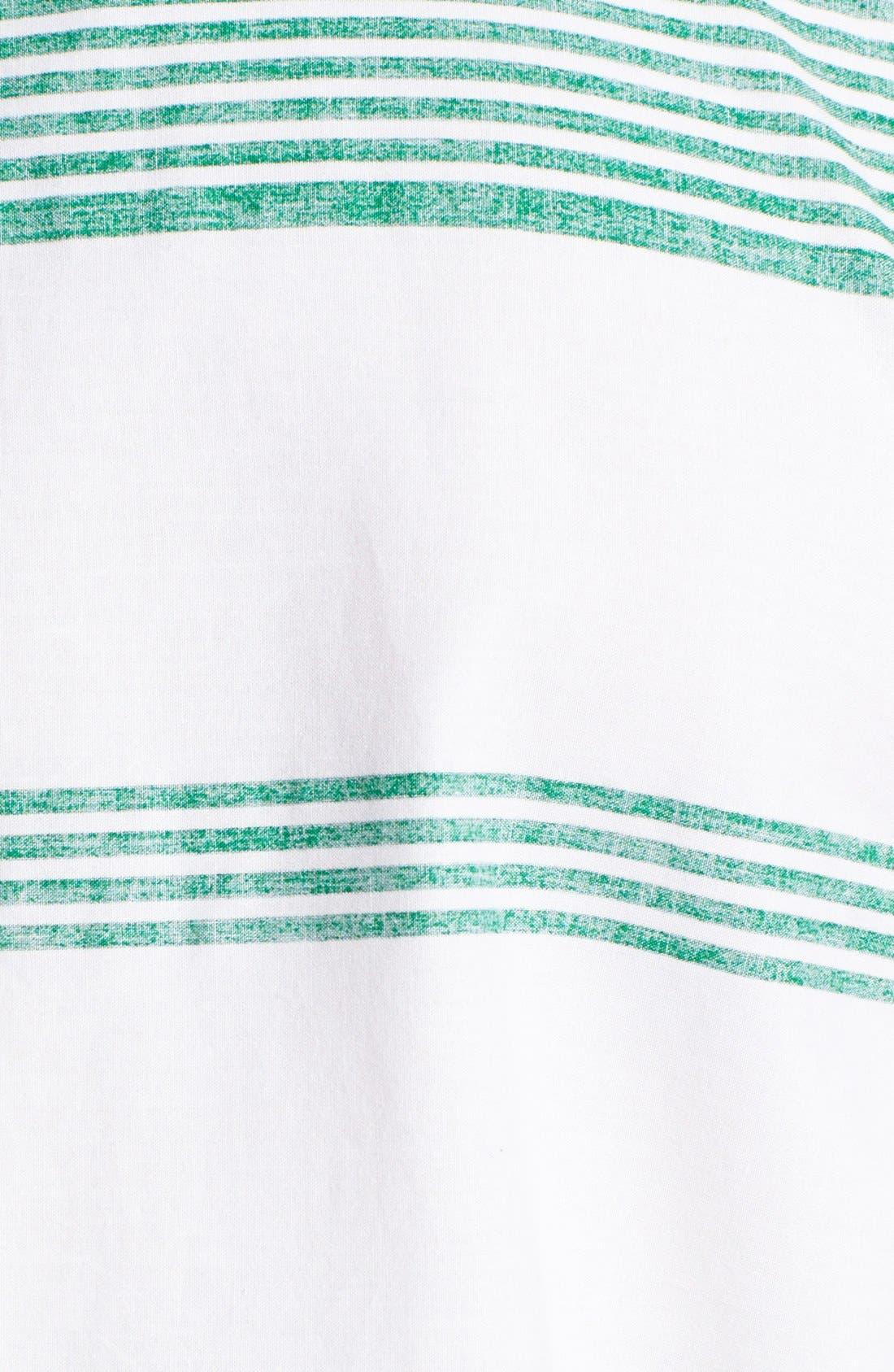 Alternate Image 3  - Hurley 'Casey' Stripe Print Woven Shirt
