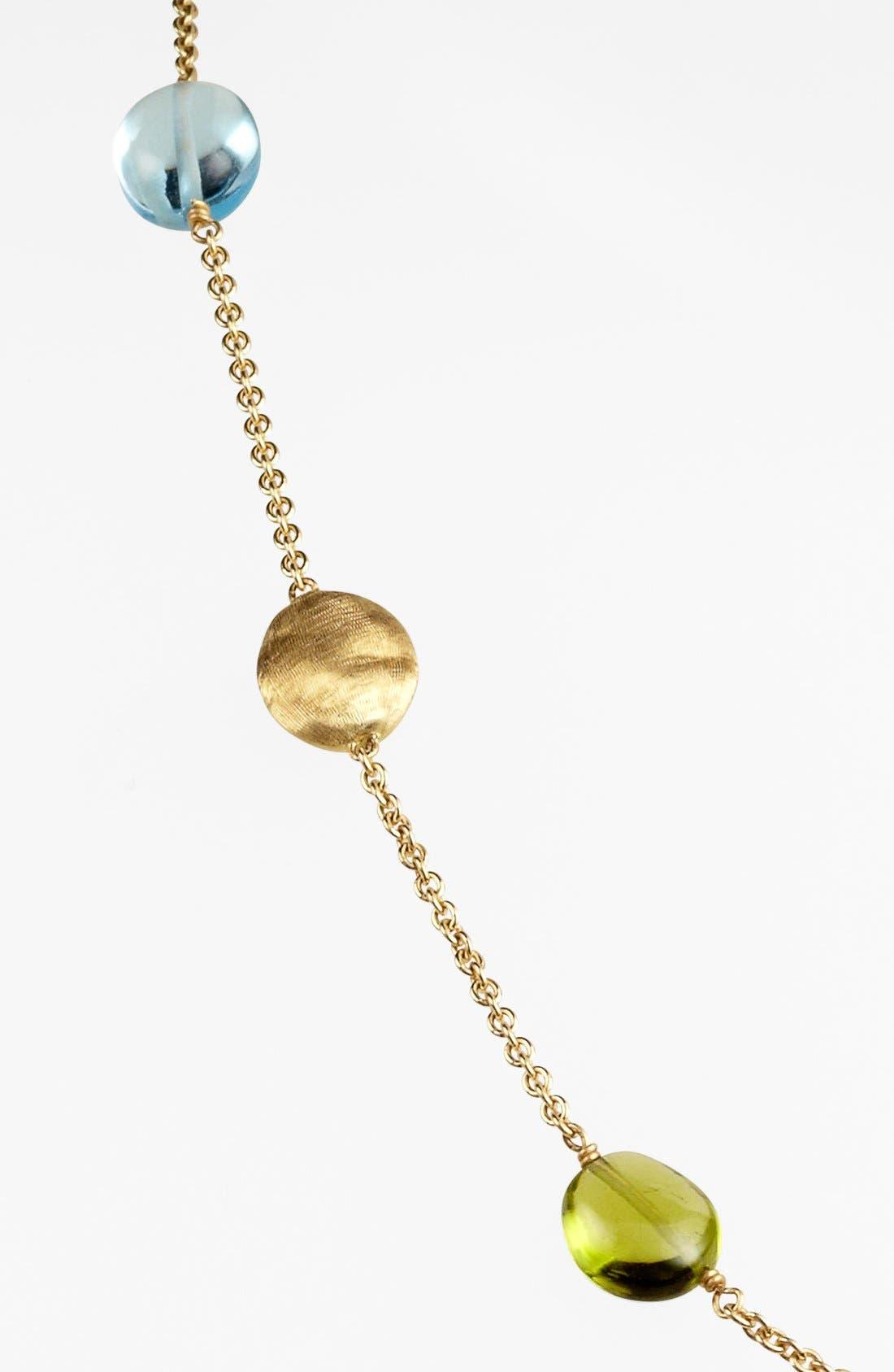 Alternate Image 2  - Marco Bicego 'Siviglia' Semiprecious Station Necklace