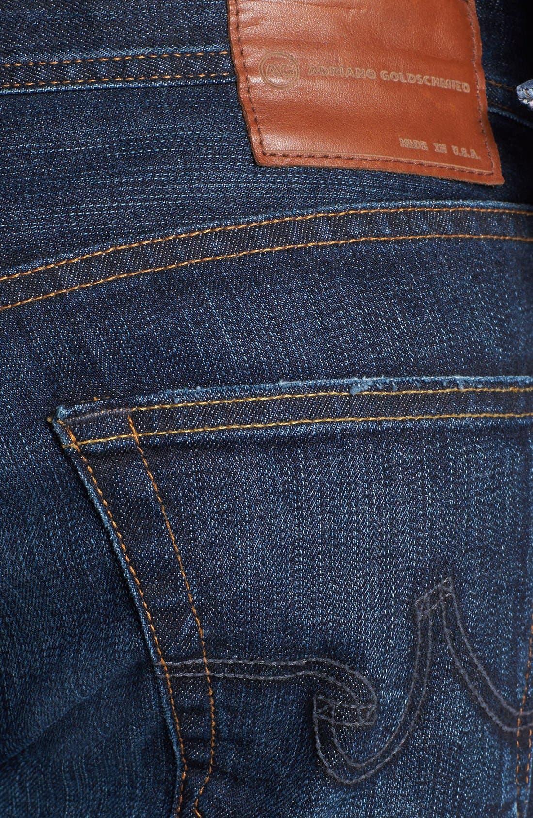 Alternate Image 4  - AG Graduate Slim Straight Leg Jeans (Robinson)