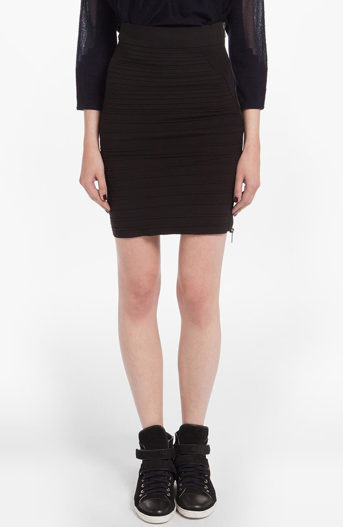 Alternate Image 1 Selected - maje 'Decimal' Pencil Skirt