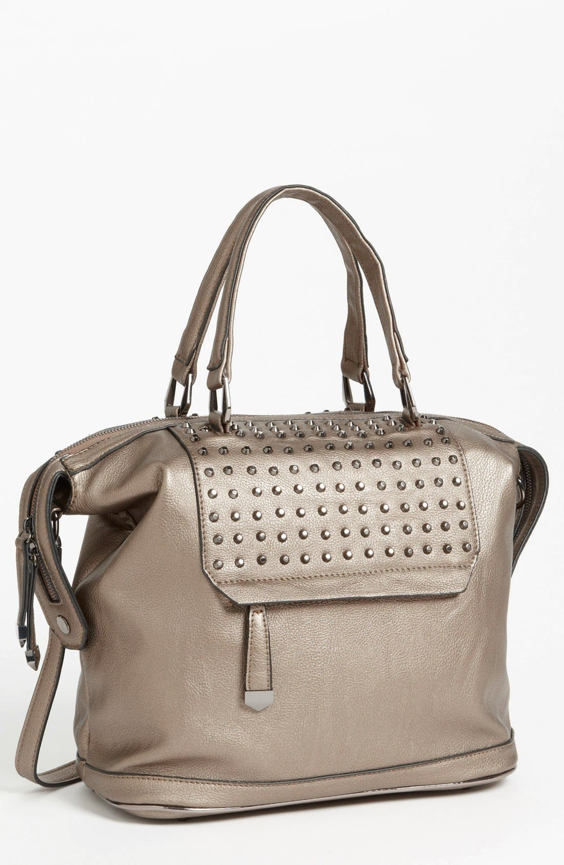 Main Image - POVERTY FLATS by rian Studded Satchel, Large