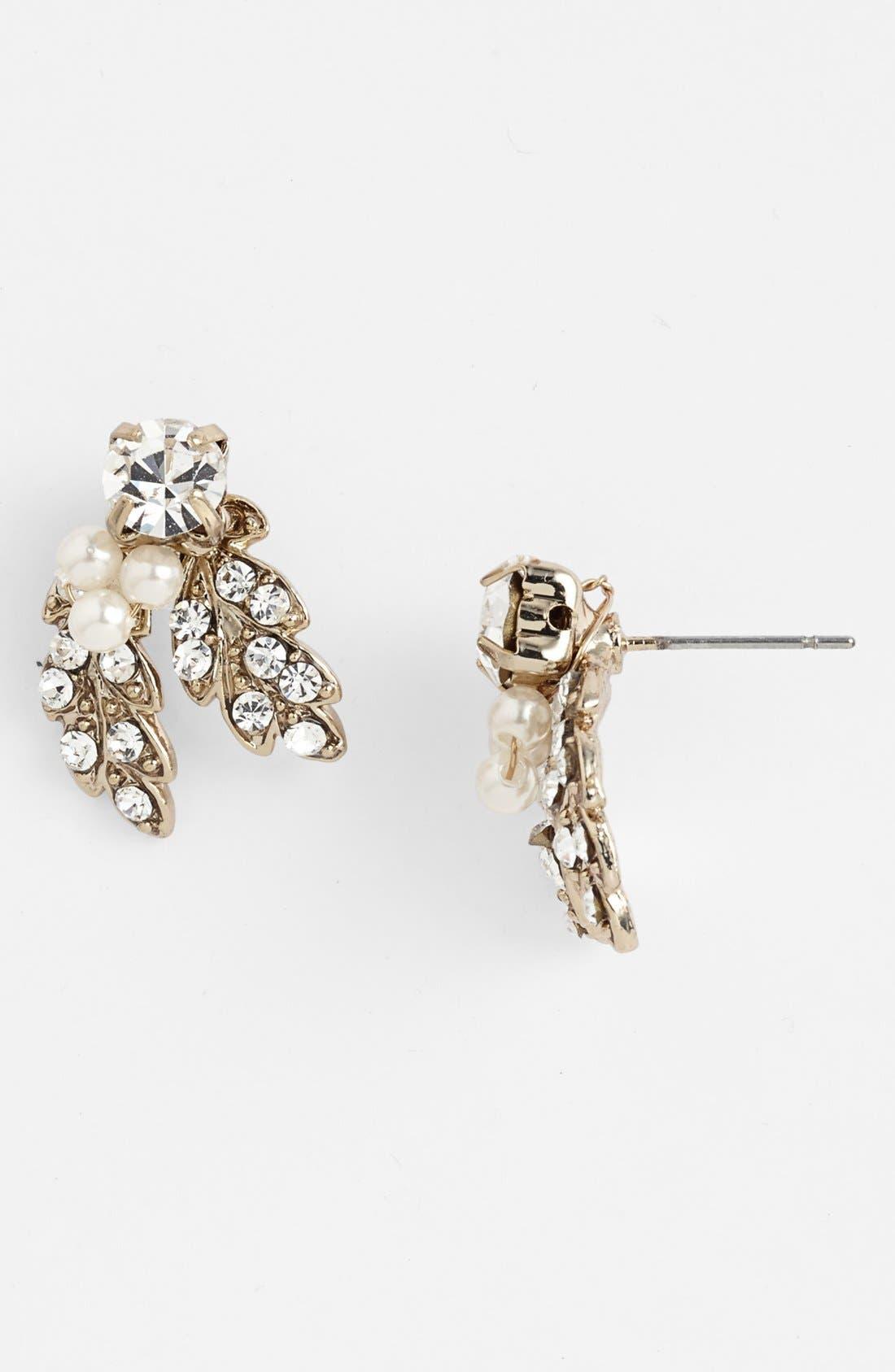 Main Image - Nina 'Abbey' Cluster Stud Earrings