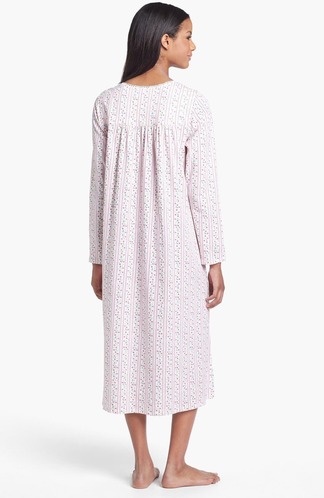 Alternate Image 2  - Eileen West 'Vintage Bloom' Nightgown
