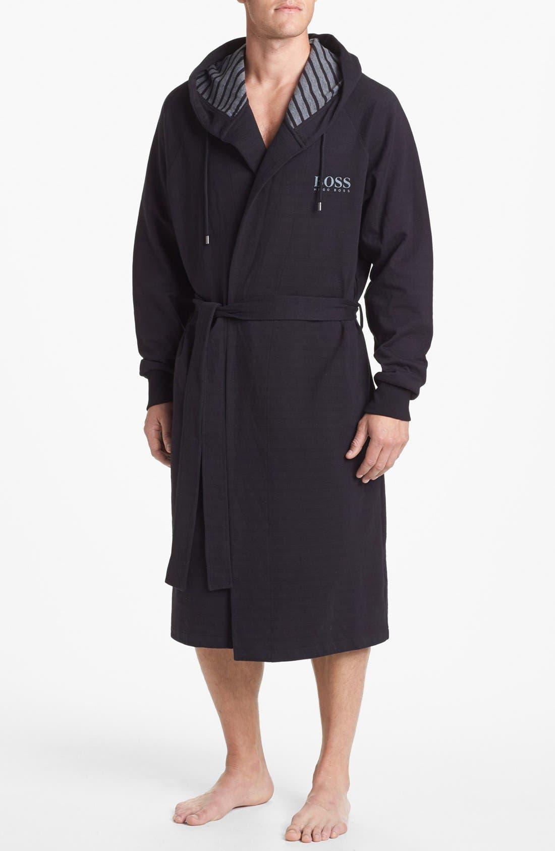 Alternate Image 1 Selected - BOSS HUGO BOSS 'Innovation 4' Hooded Robe