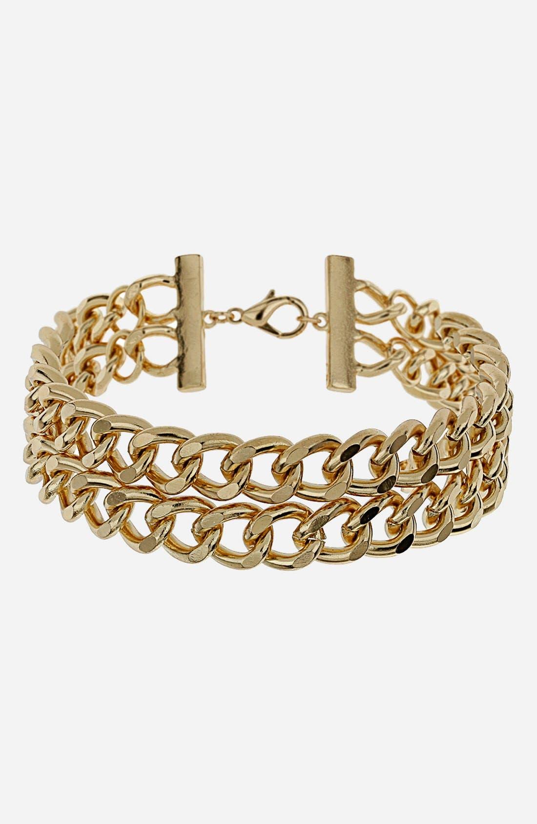 Main Image - Topshop Curb Chain Choker
