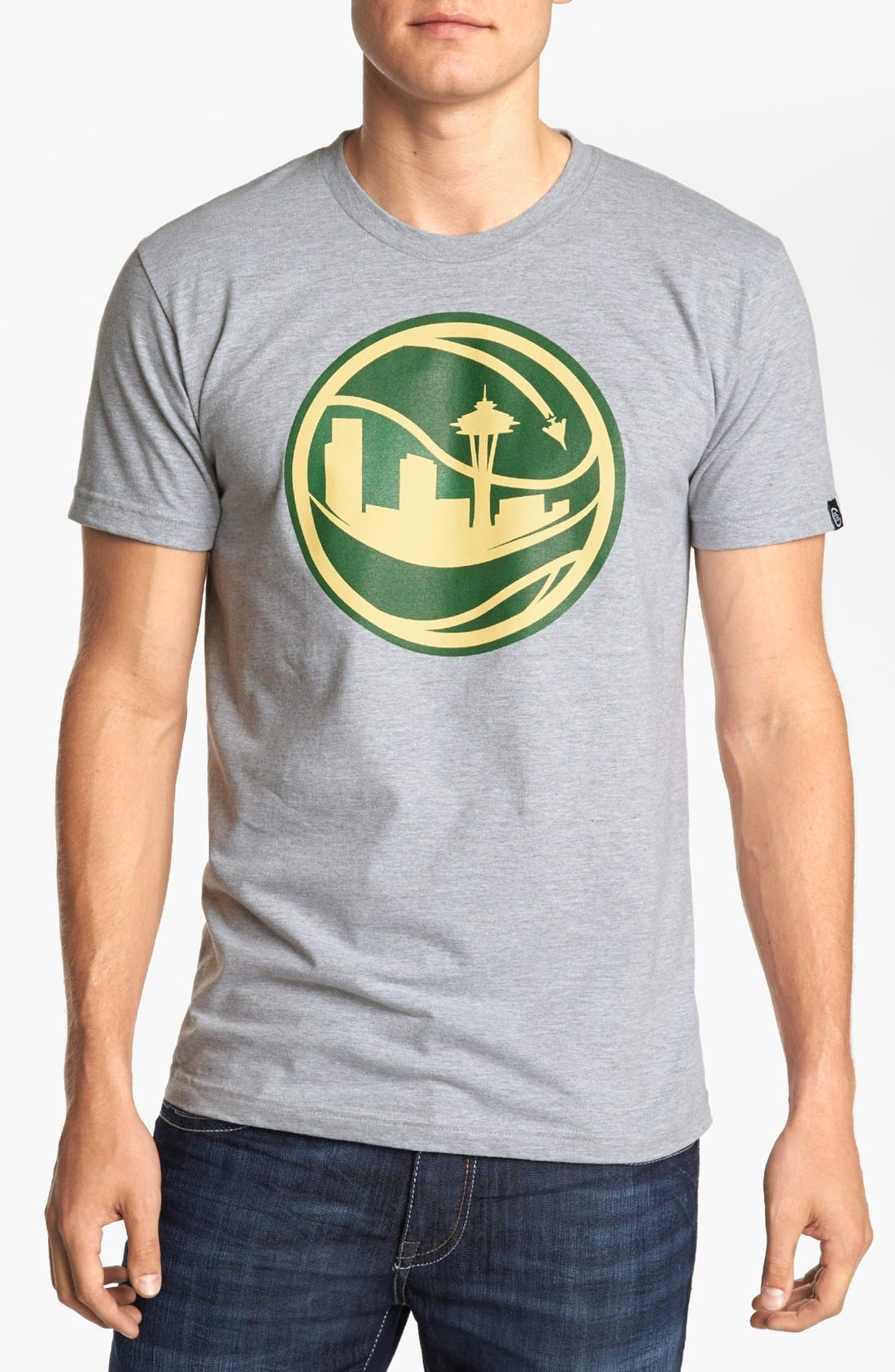 Alternate Image 1 Selected - Casual Industrees 'Skyball' T-Shirt