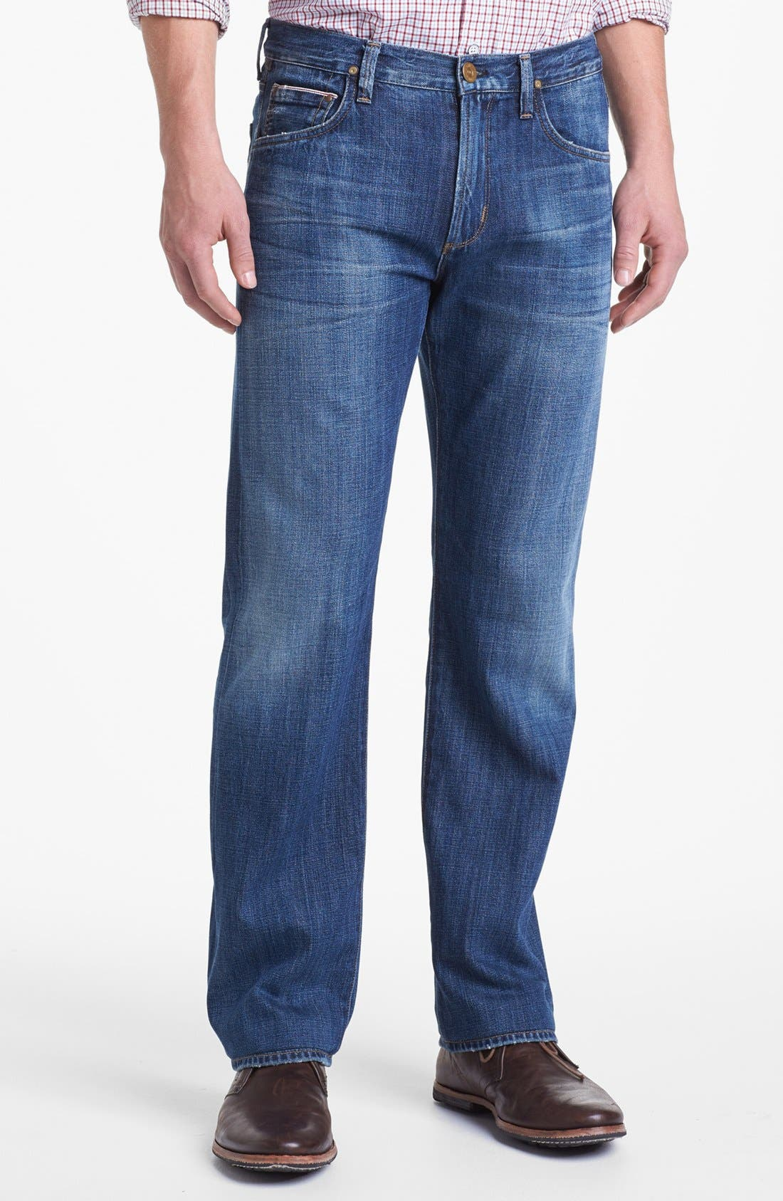 Alternate Image 1 Selected - Citizens of Humanity 'Sid Selvage' Straight Leg Jeans (Kory Wash)