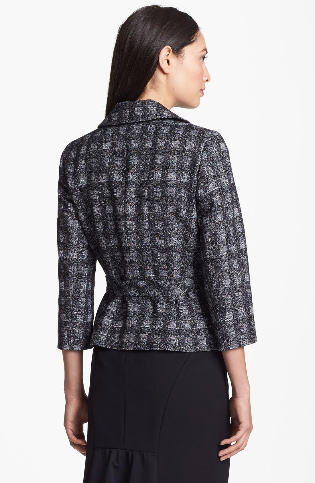 Alternate Image 2  - Classiques Entier® 'Twist Check' Jacket