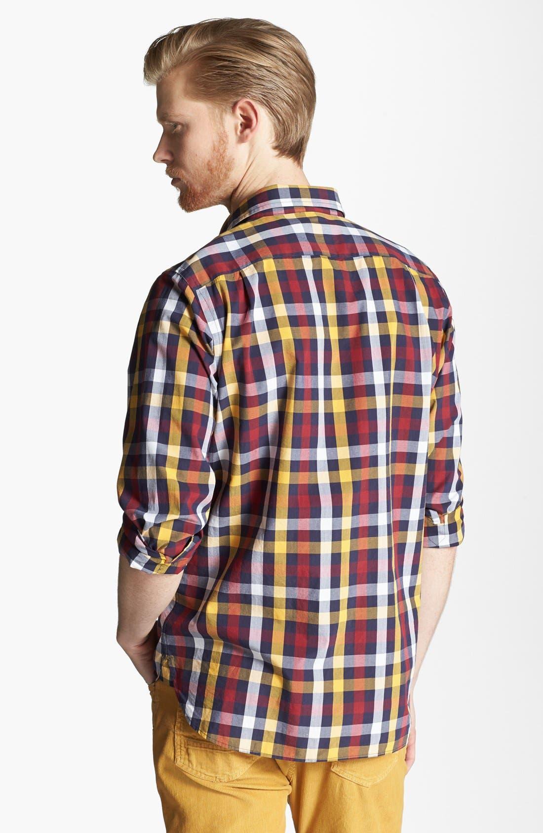 Alternate Image 2  - Jack Spade 'Sid' Plaid Woven Shirt
