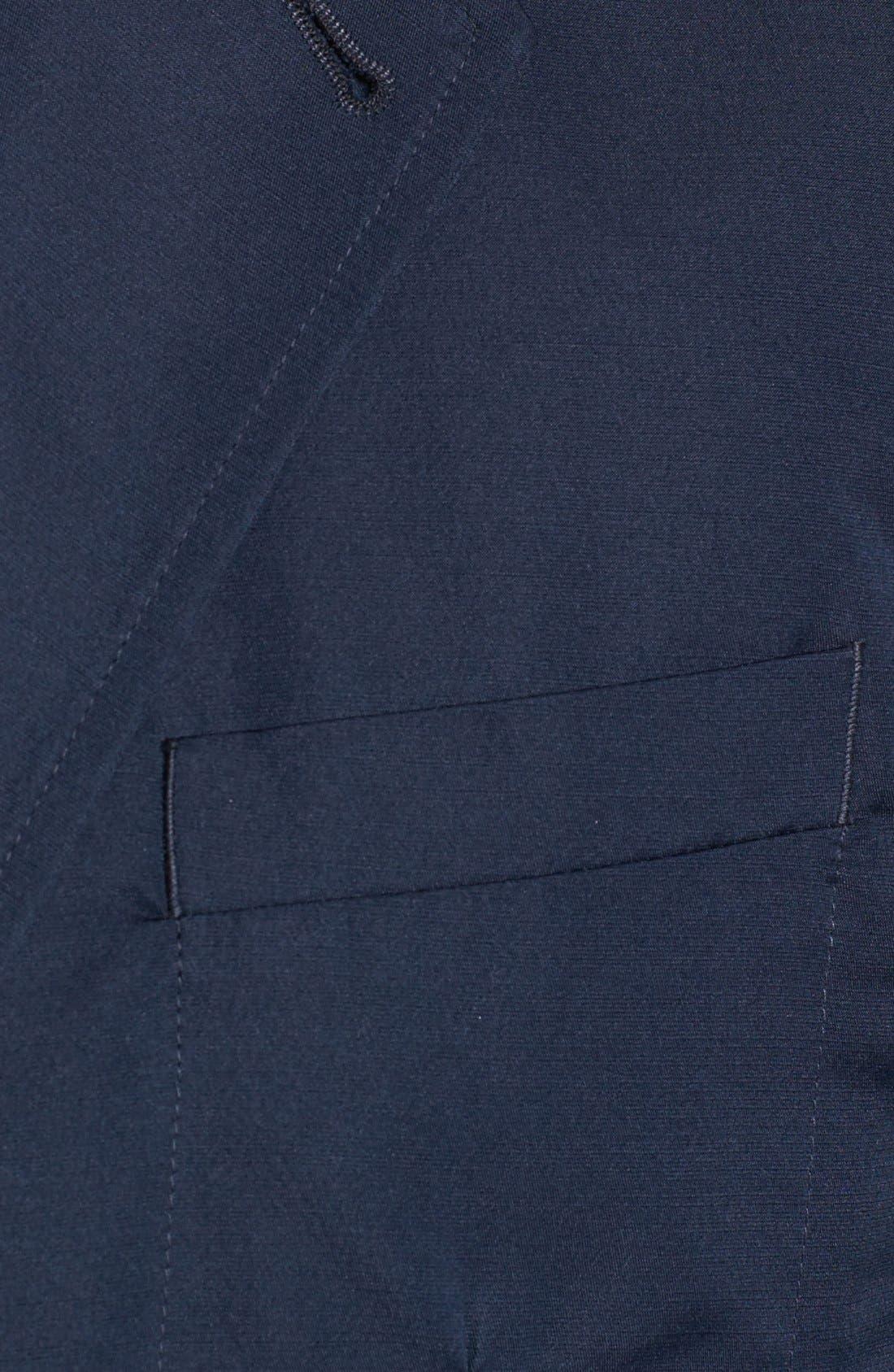 Alternate Image 2  - Lanvin Navy Deconstructed Blazer