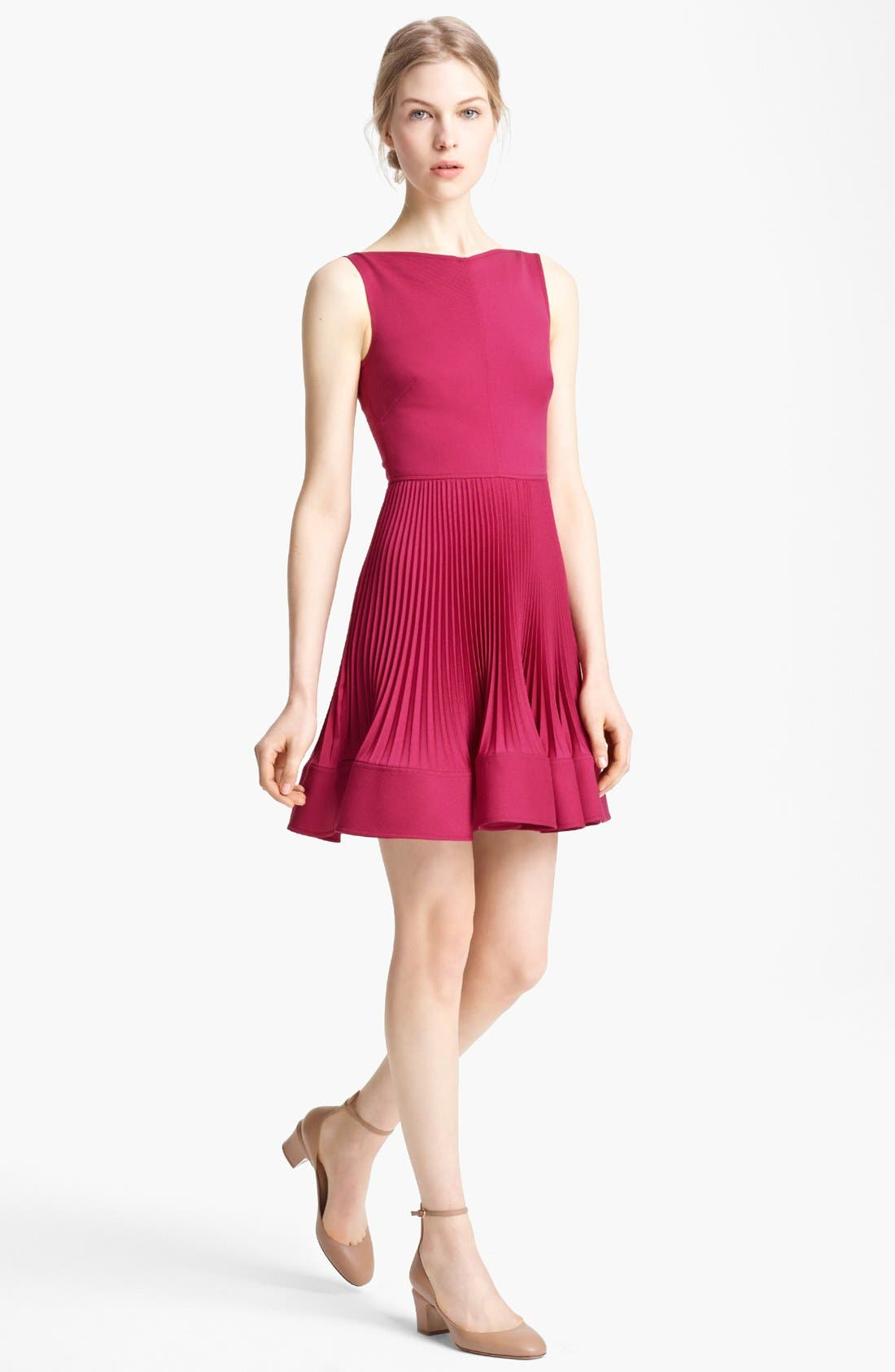 Main Image - Valentino Sleeveless Wool Dress