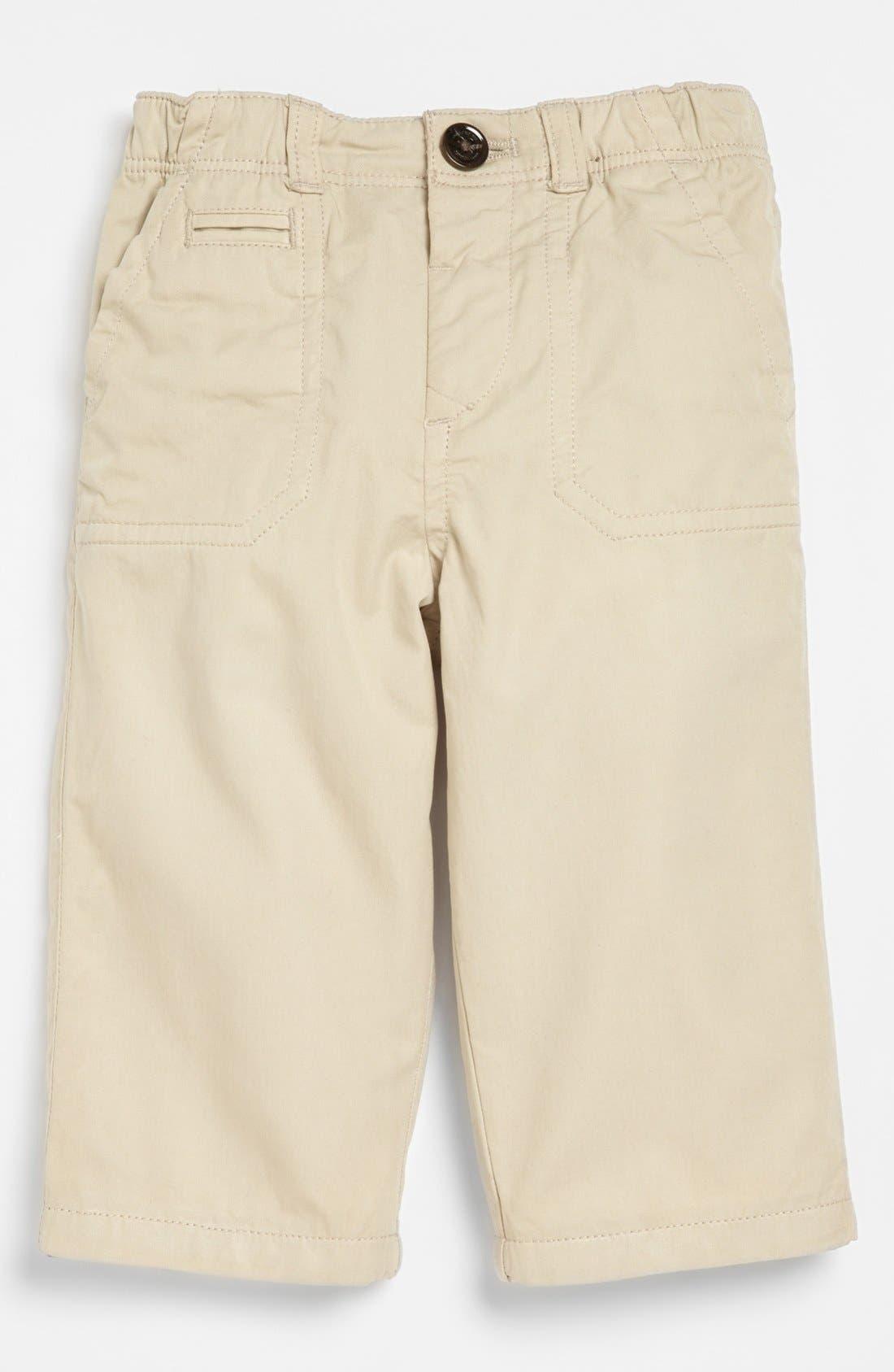 Alternate Image 2  - Burberry Dress Pants (Toddler Boys)