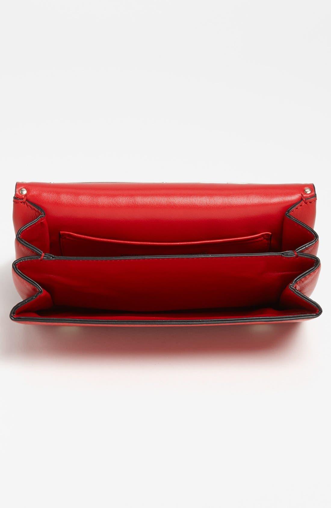 Alternate Image 3  - Valentino 'Rockstud - Rouge Va Va Voom' Leather Shoulder Bag