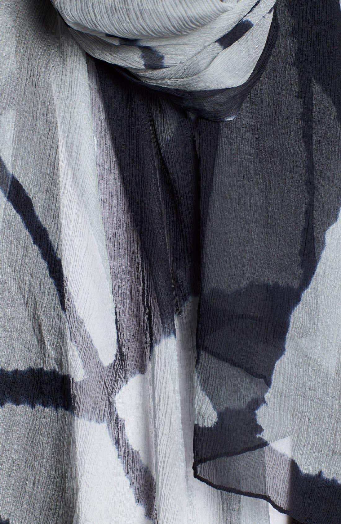 Alternate Image 3  - Eileen Fisher Print Silk Scarf