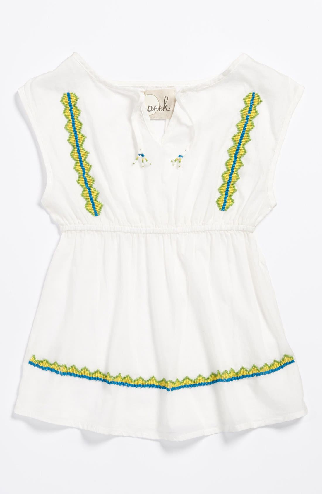 Main Image - Peek 'Bindi' Top (Toddler Girls, Little Girls & Big Girls)