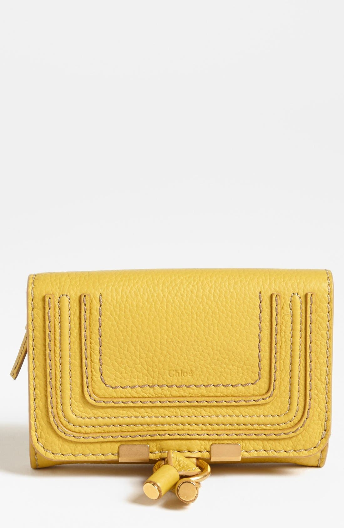 Alternate Image 1 Selected - Chloé 'Marcie' Leather Wallet