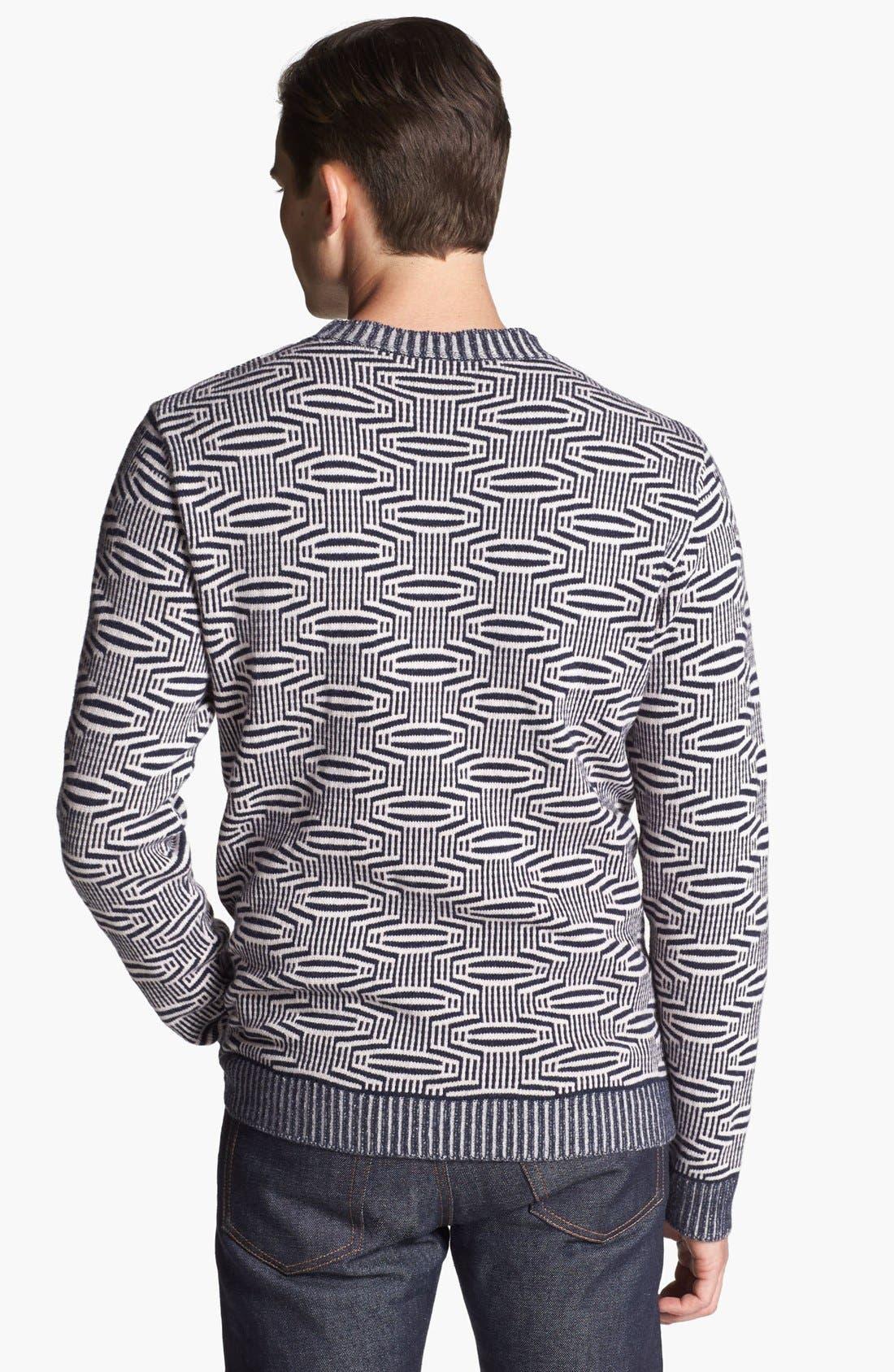 Alternate Image 2  - PS Paul Smith Wool Crewneck Sweater
