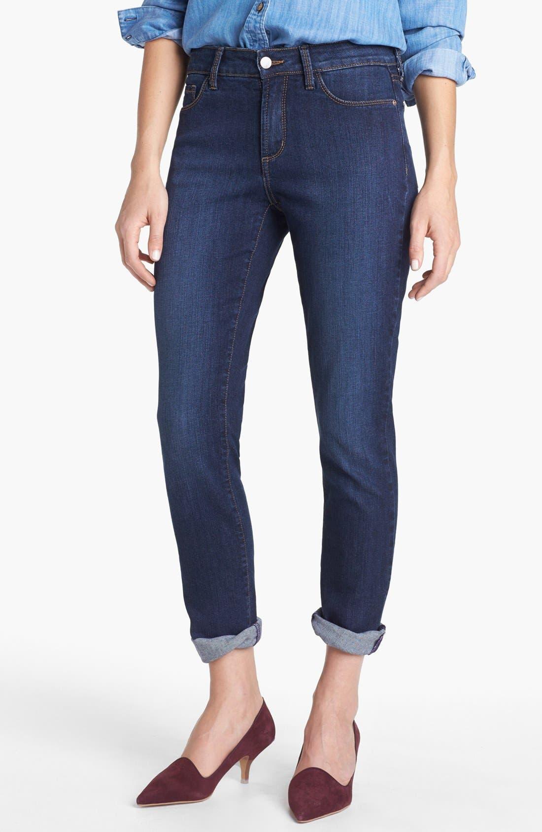 Alternate Image 1 Selected - NYDJ 'Leann' Stretch Skinny Boyfriend Jeans