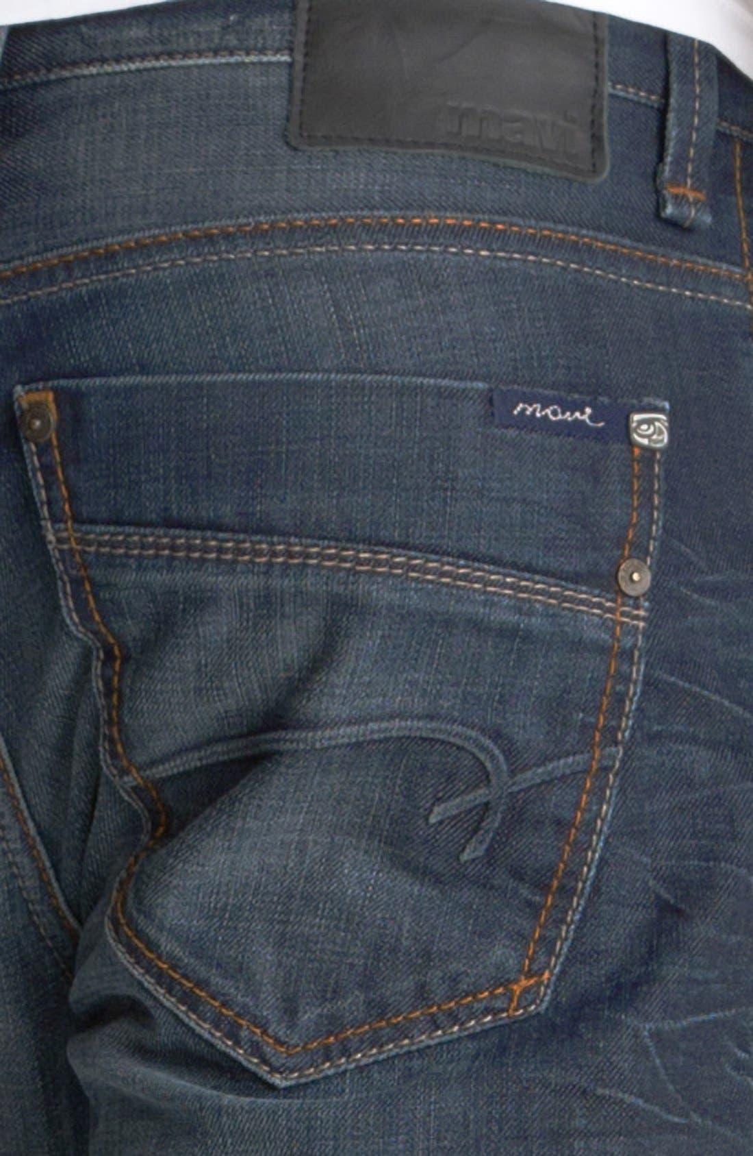 Alternate Image 4  - Mavi Jeans 'Josh' Bootcut Jeans (Coated Jameson) (Online Only)