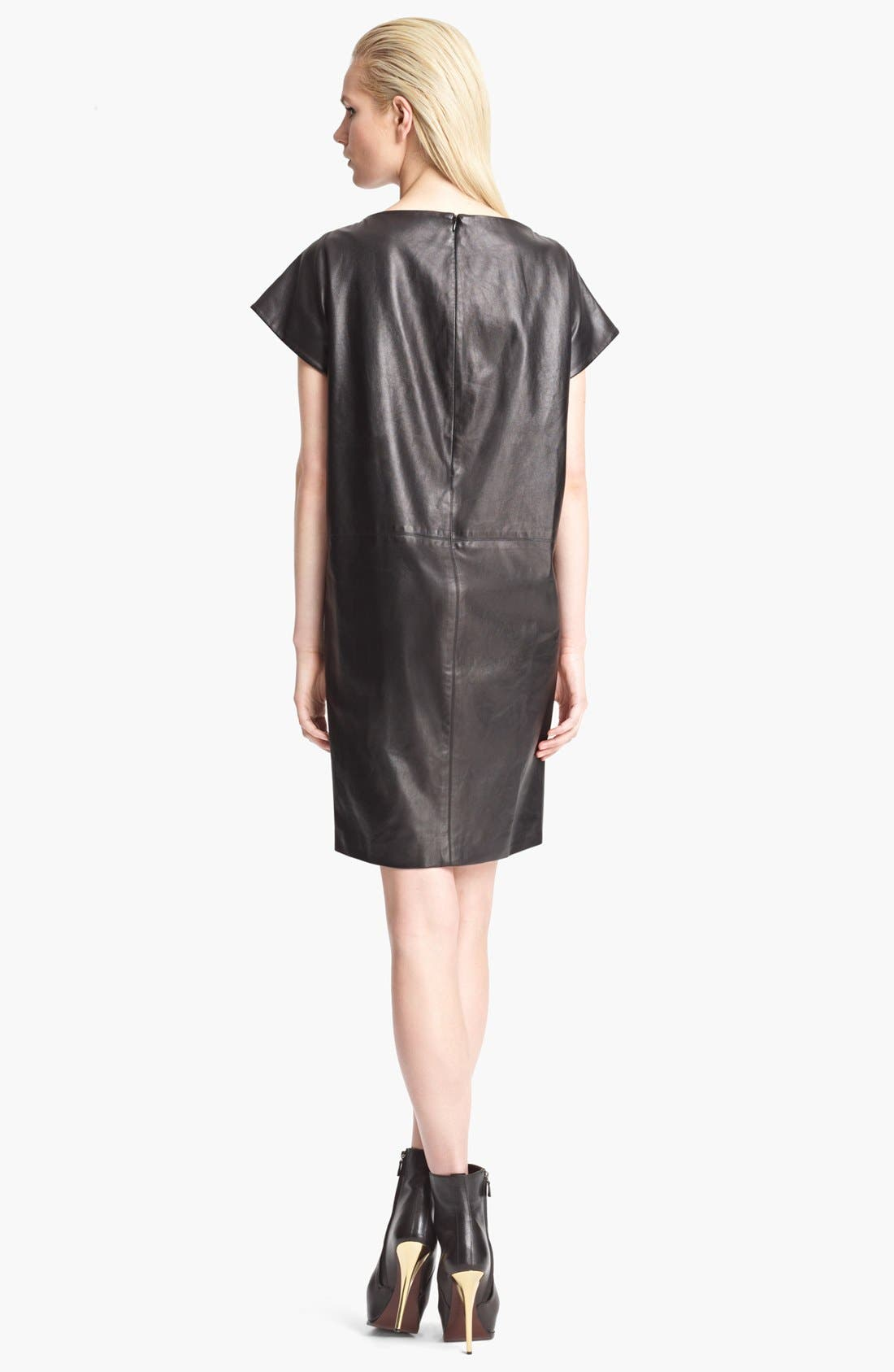 Alternate Image 2  - Thakoon Dragonfly Leather Back Dress
