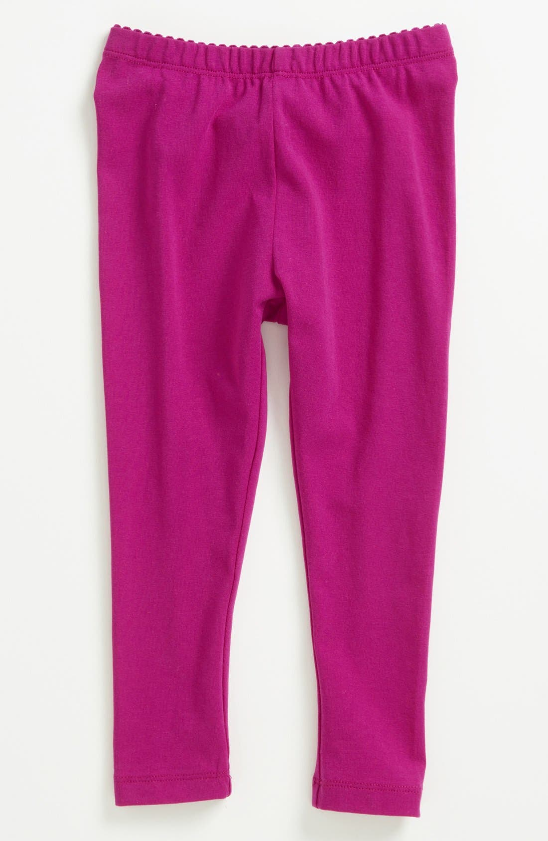 Alternate Image 1 Selected - Tea Collection Skinny Stretch Leggings (Baby Girls)