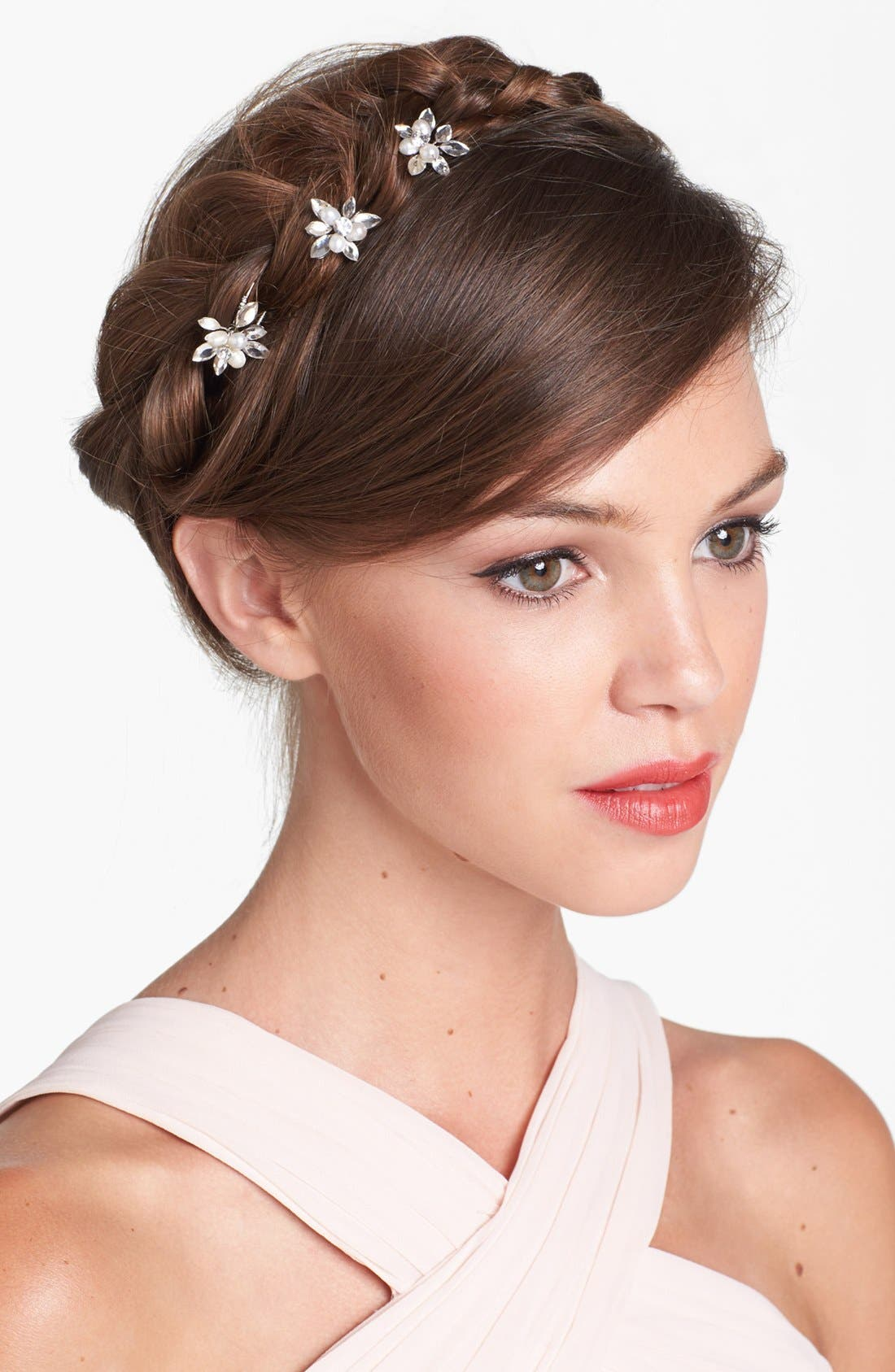 Main Image - Untamed Petals by Amanda Judge 'Kyle' Hairpins (Set of 3)
