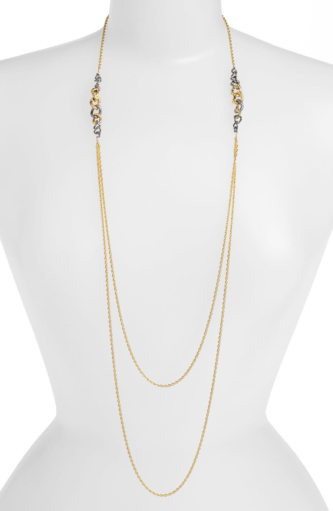 Main Image - Alexis Bittar 'Elements - Jardin de Papillon' Long Link Station Necklace (Nordstrom Exclusive)