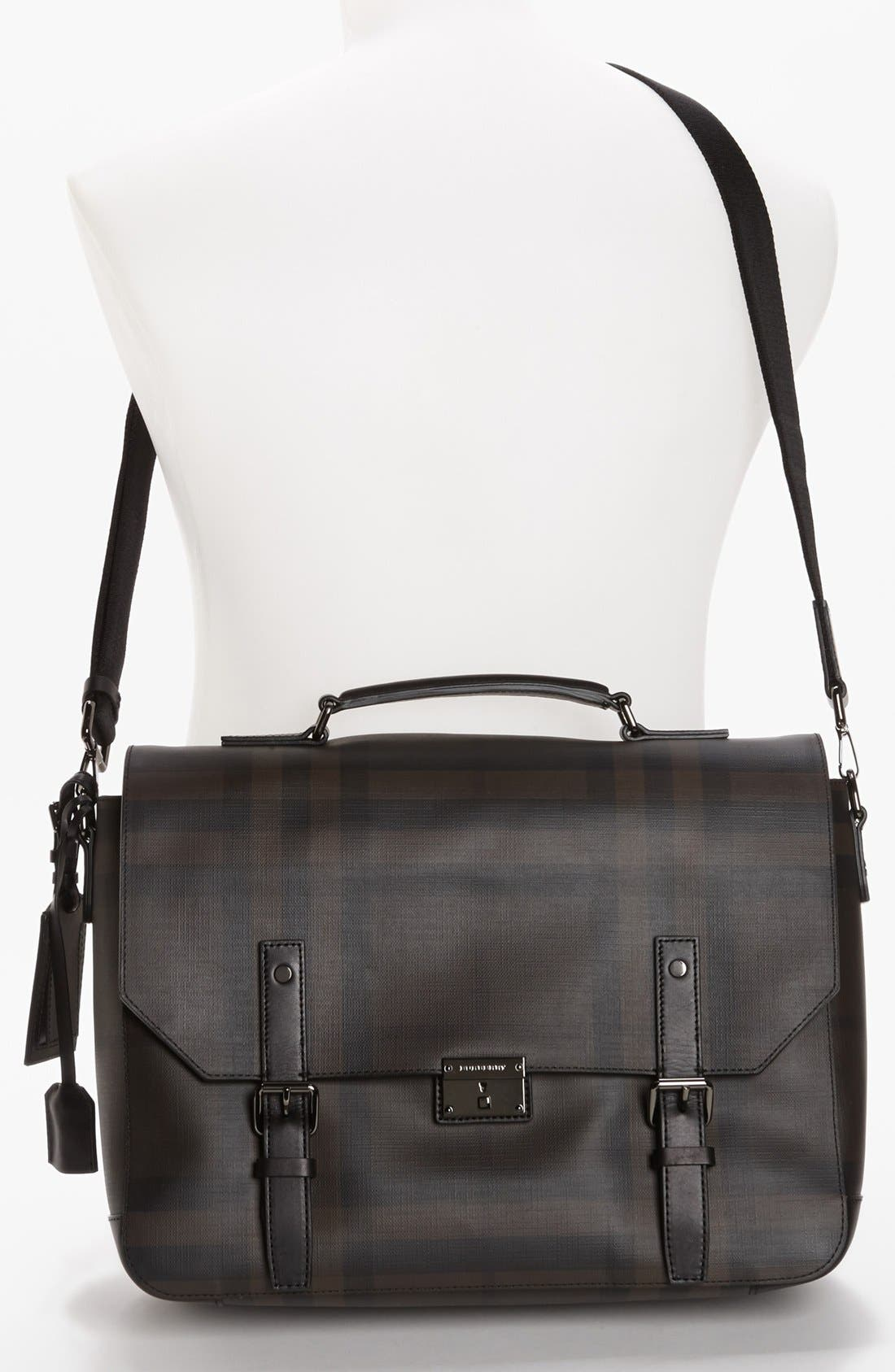 Alternate Image 4  - Burberry 'Grifford' Check Print Messenger Bag
