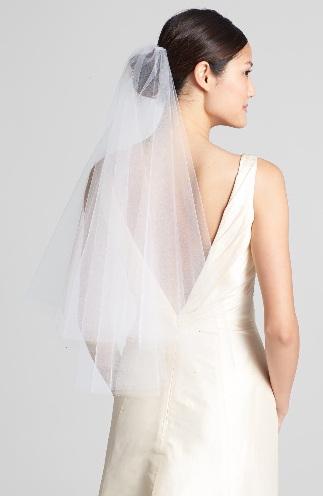 Wedding Belles New York 'Madeline - Crystal' Two Tier Veil (Nordstrom Exclusive)