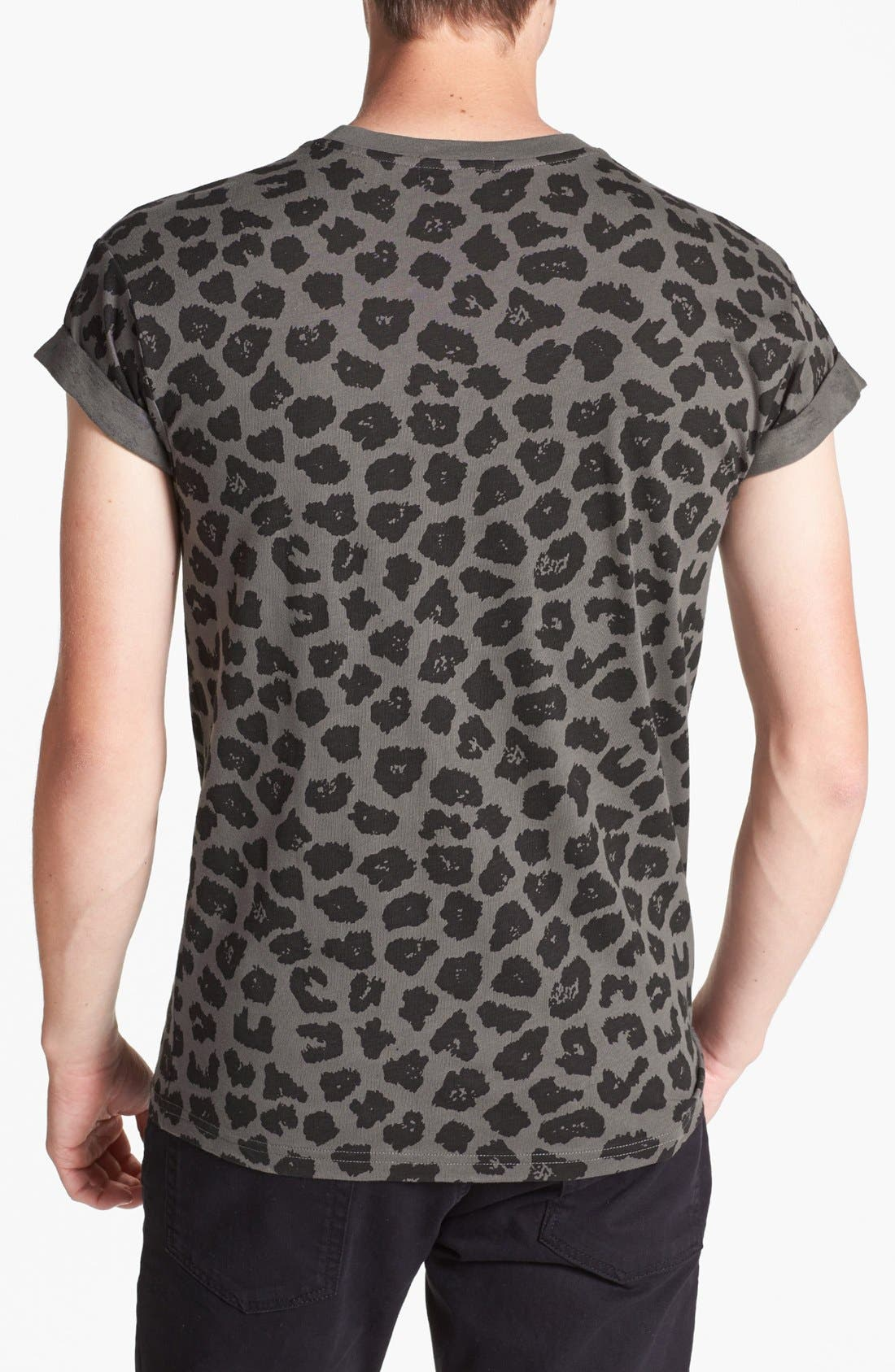 Alternate Image 2  - Topman Leopard Print T-Shirt