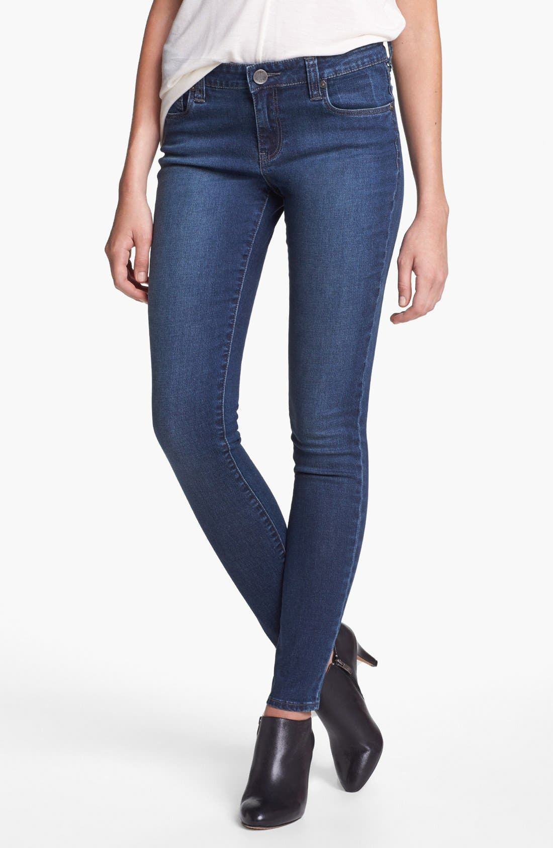 Alternate Image 1 Selected - KUT from the Kloth 'Elle' Skinny Jeans (Healthy)