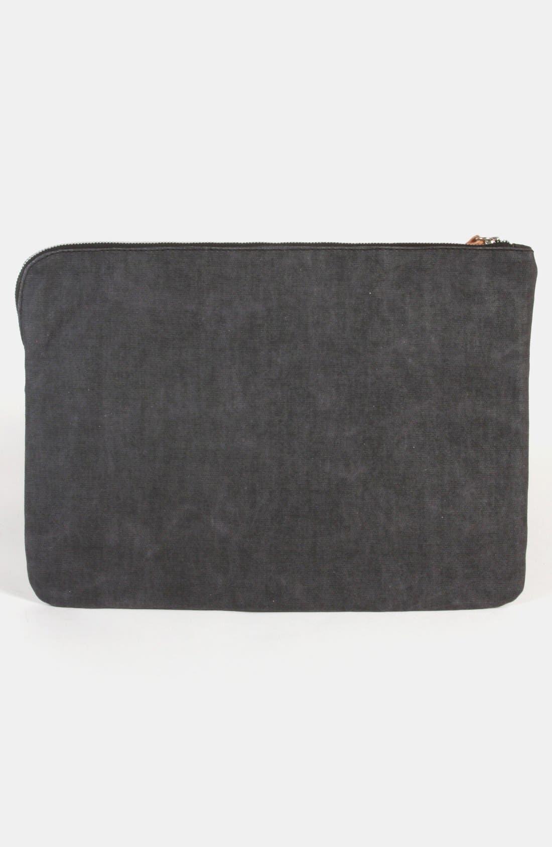 Alternate Image 2  - Will Leather Goods Coated Canvas Laptop Case