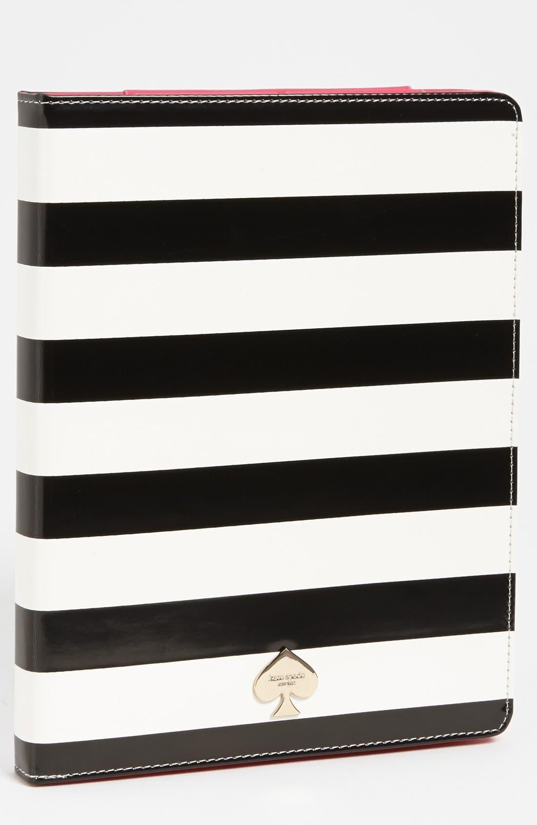 Main Image - kate spade new york 'petula stripe' iPad 2 & 3 folio