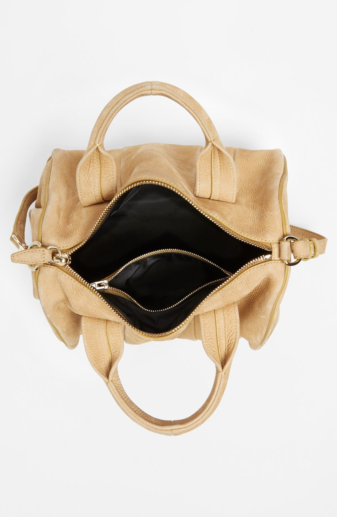 Alternate Image 3  - Alexander Wang 'Rocco Dumbo Slick - Pale Gold' Leather Satchel