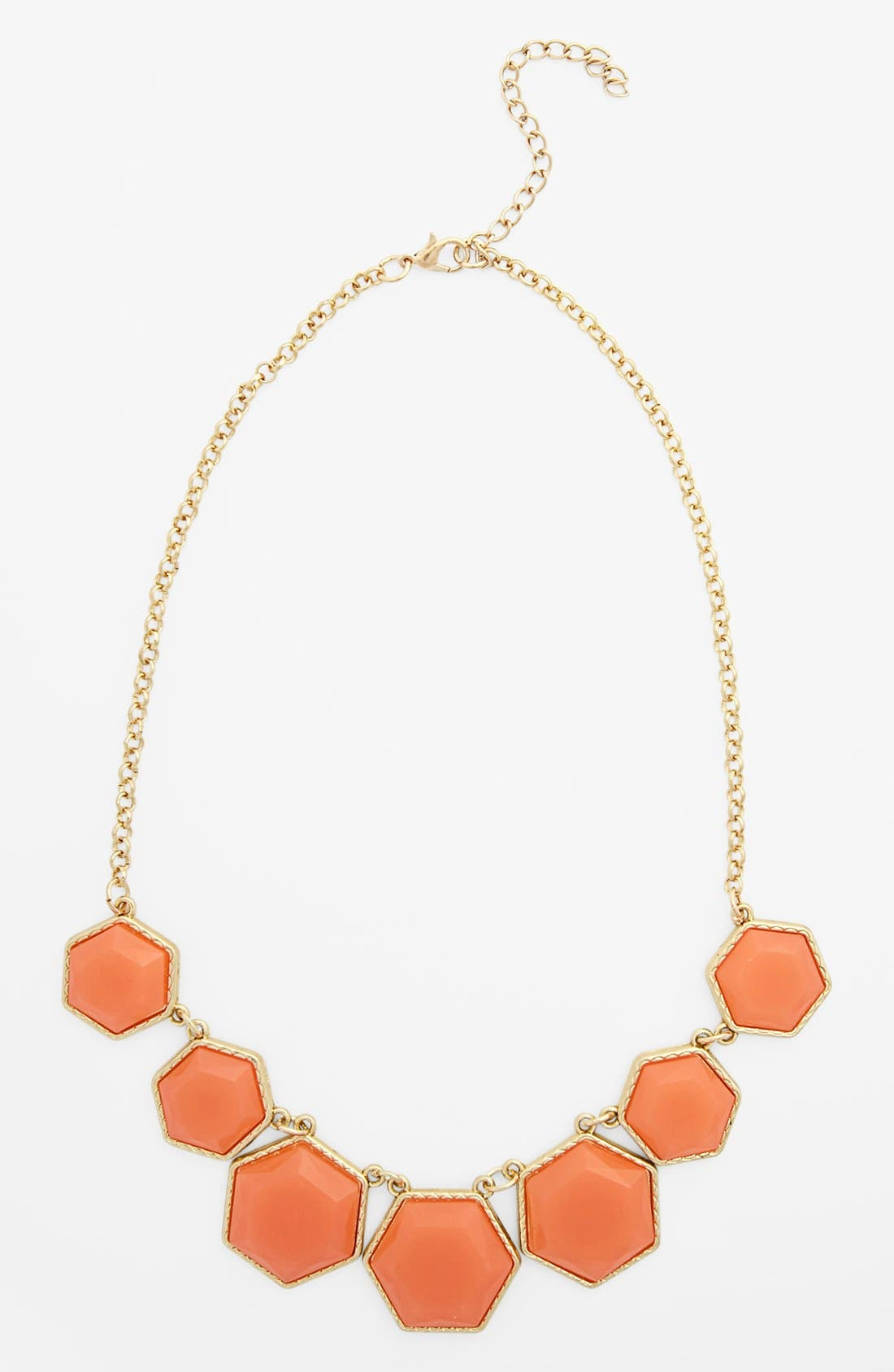 Alternate Image 1 Selected - Stephan & Co. Geometric Statement Necklace