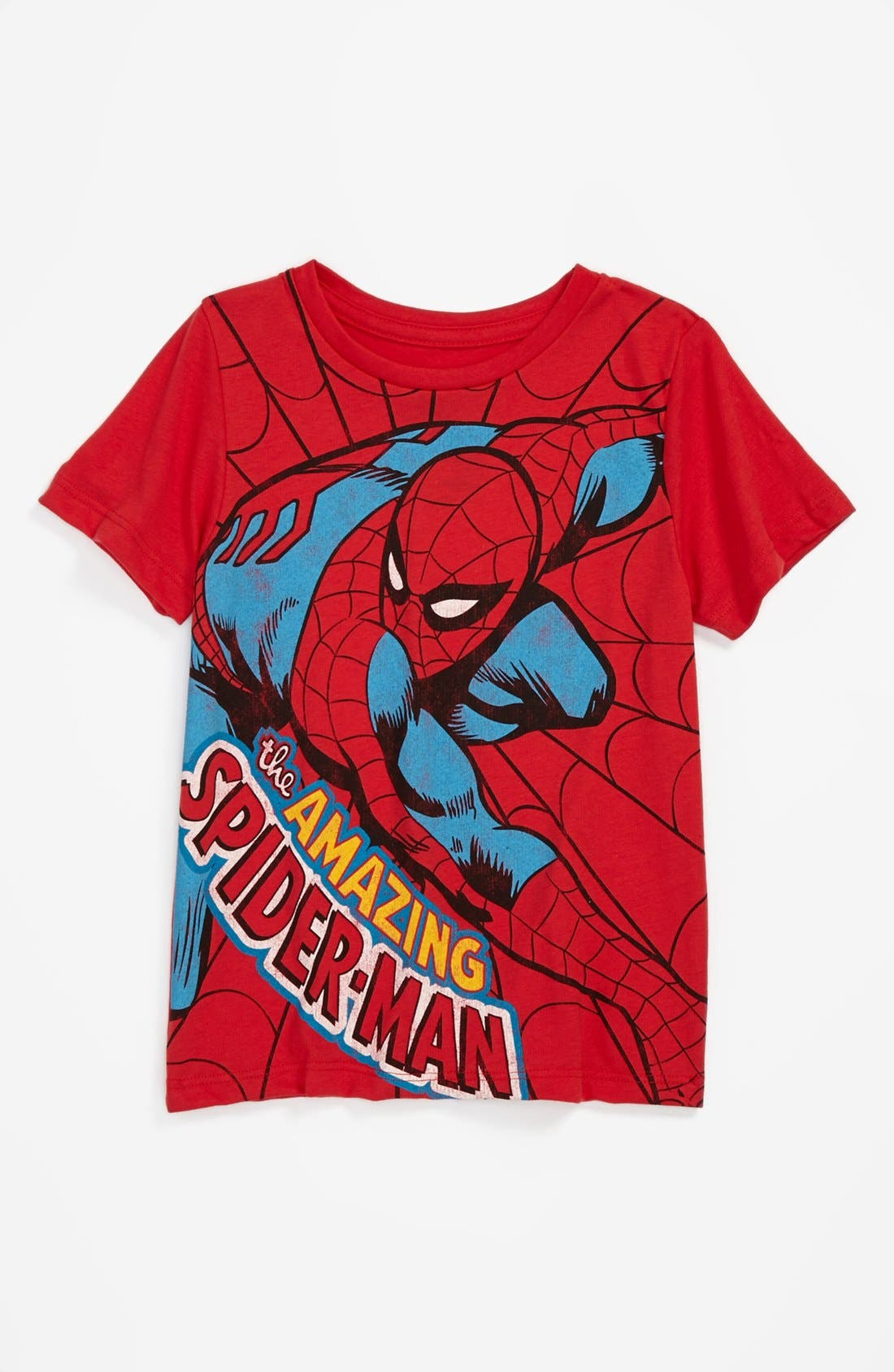 Main Image - Mighty Fine 'Spidey Amazing' T-Shirt (Little Boys)