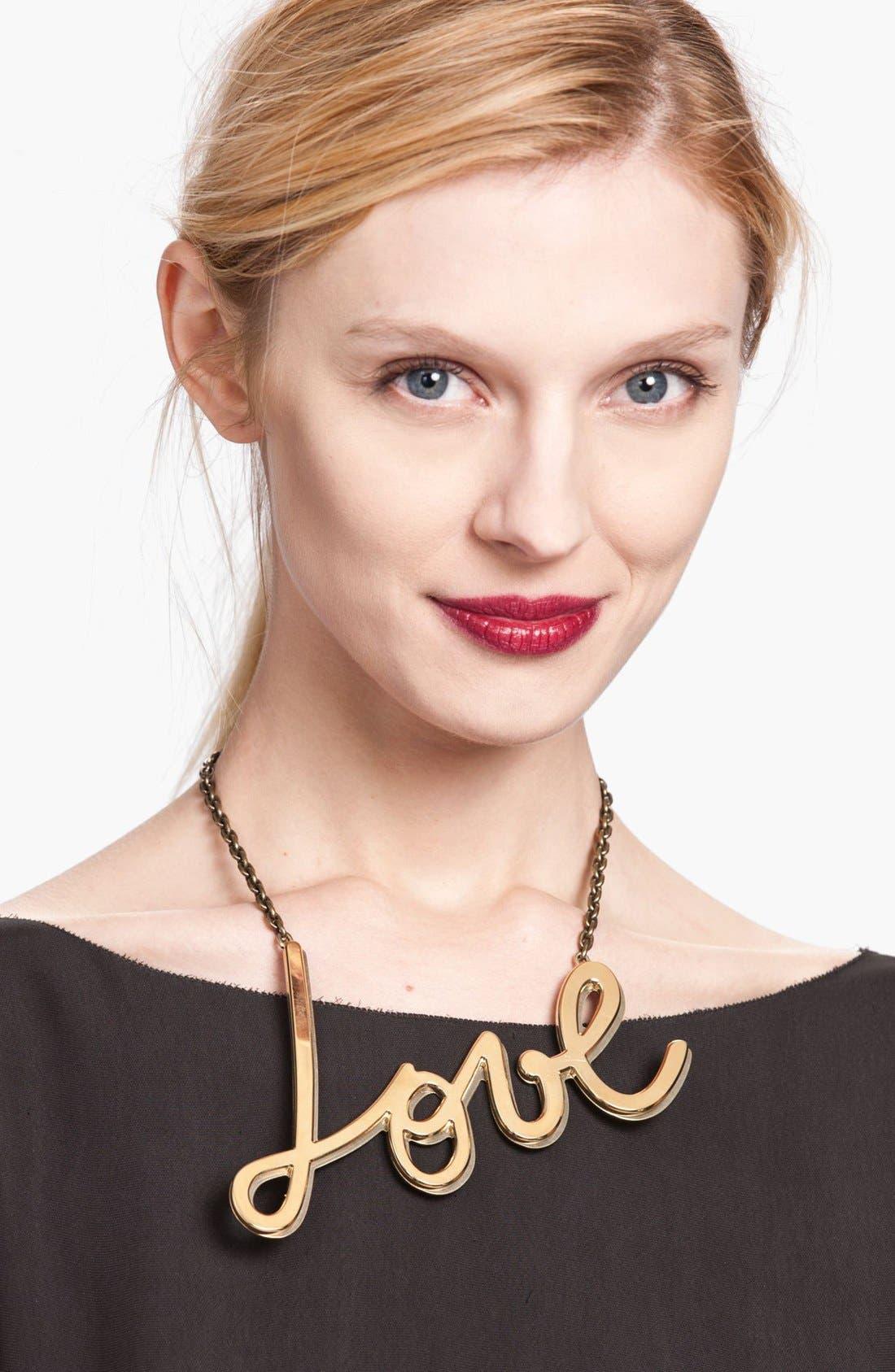 Main Image - Lanvin 'Love' Chain Necklace