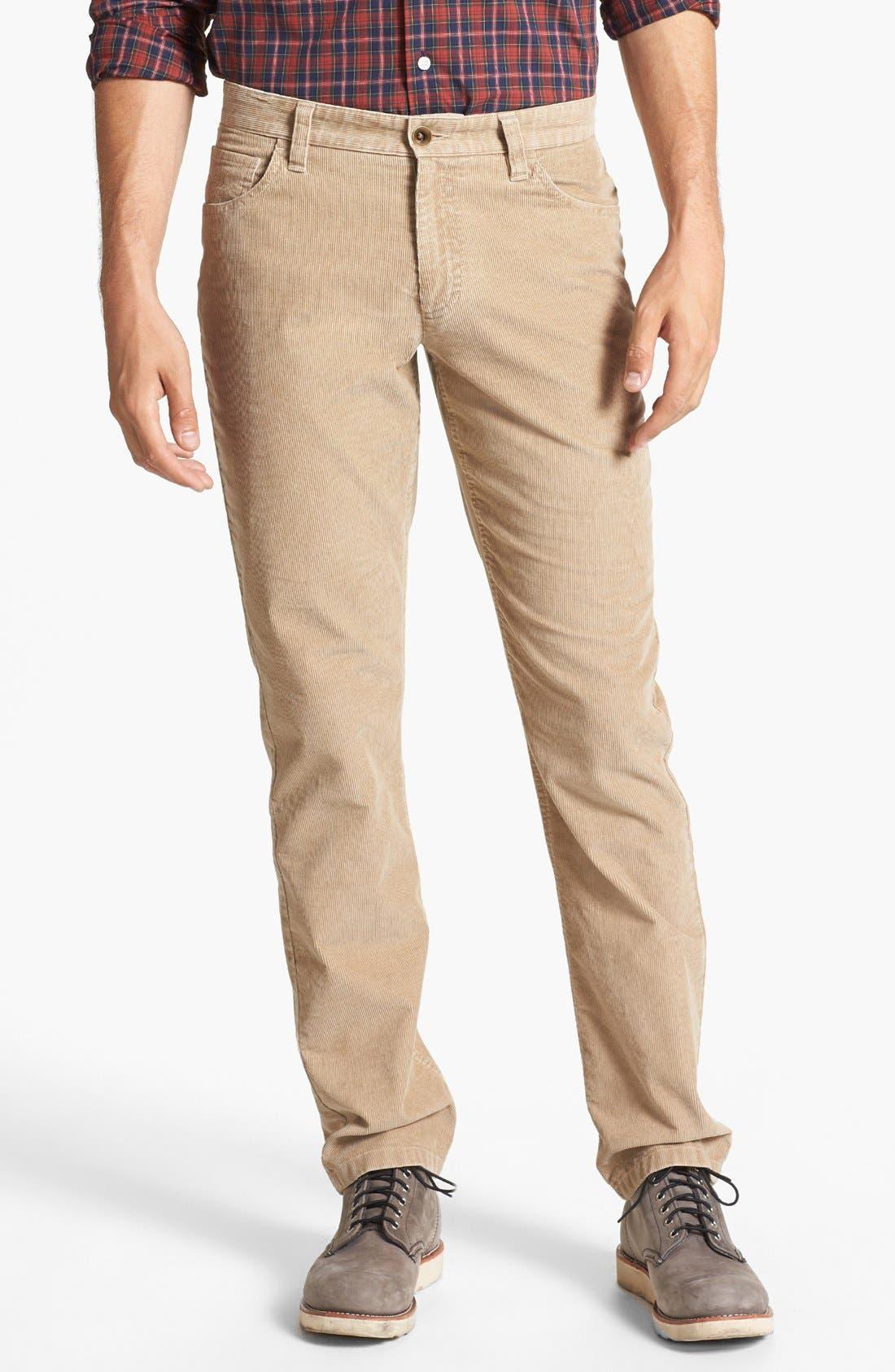 Alternate Image 1 Selected - Wallin & Bros. Corduroy Pants