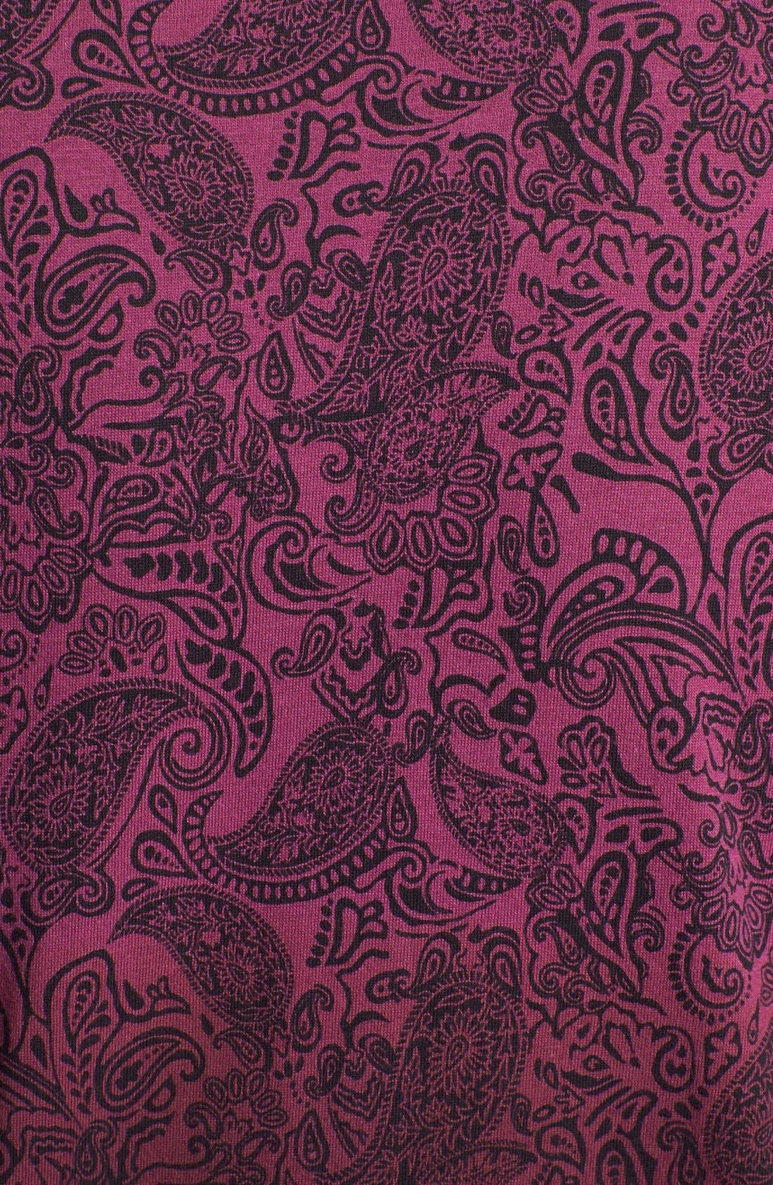 Alternate Image 3  - Topman Dip Dyed Paisley Print T-Shirt