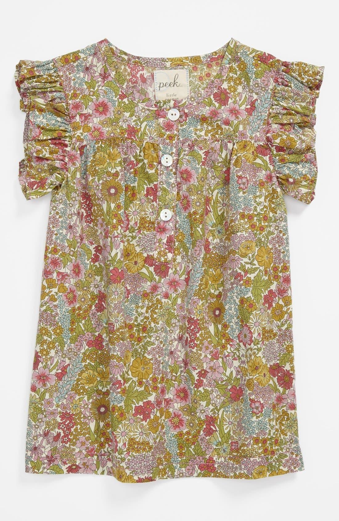 Alternate Image 1 Selected - Peek 'Annie' Dress (Baby Girls)