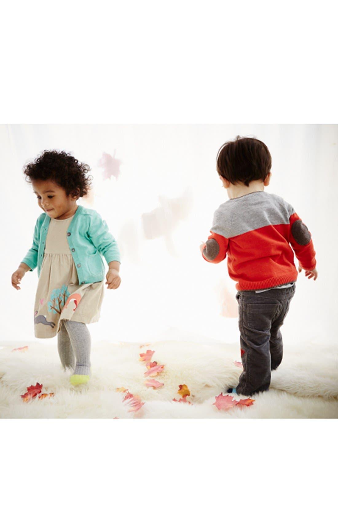 Alternate Image 2  - Mini Boden 'Favorite' Cardigan (Baby Girls)